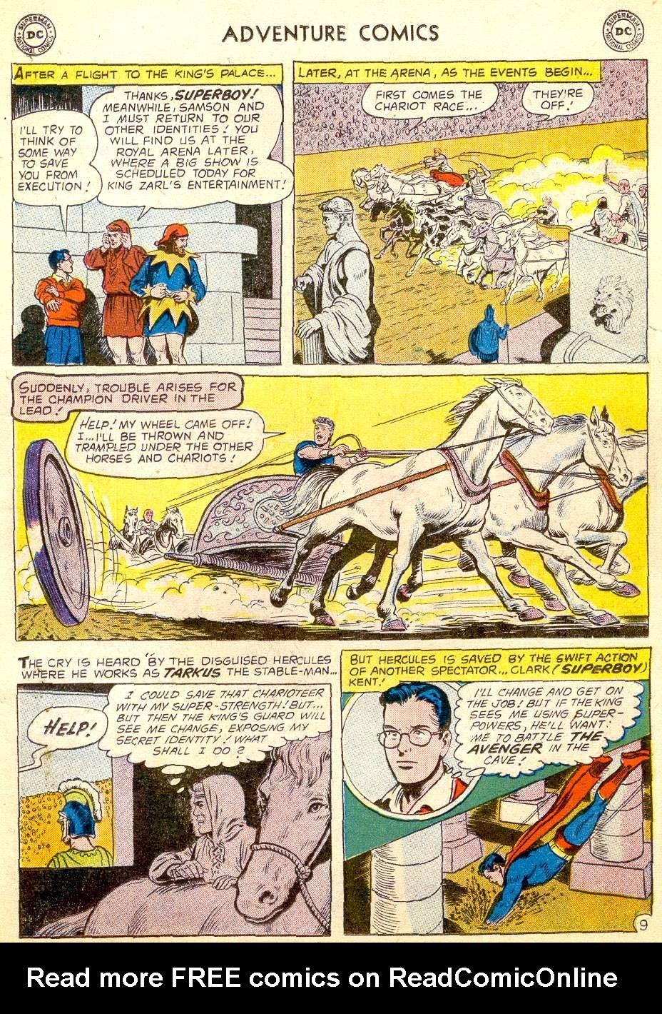 Read online Adventure Comics (1938) comic -  Issue #257 - 11
