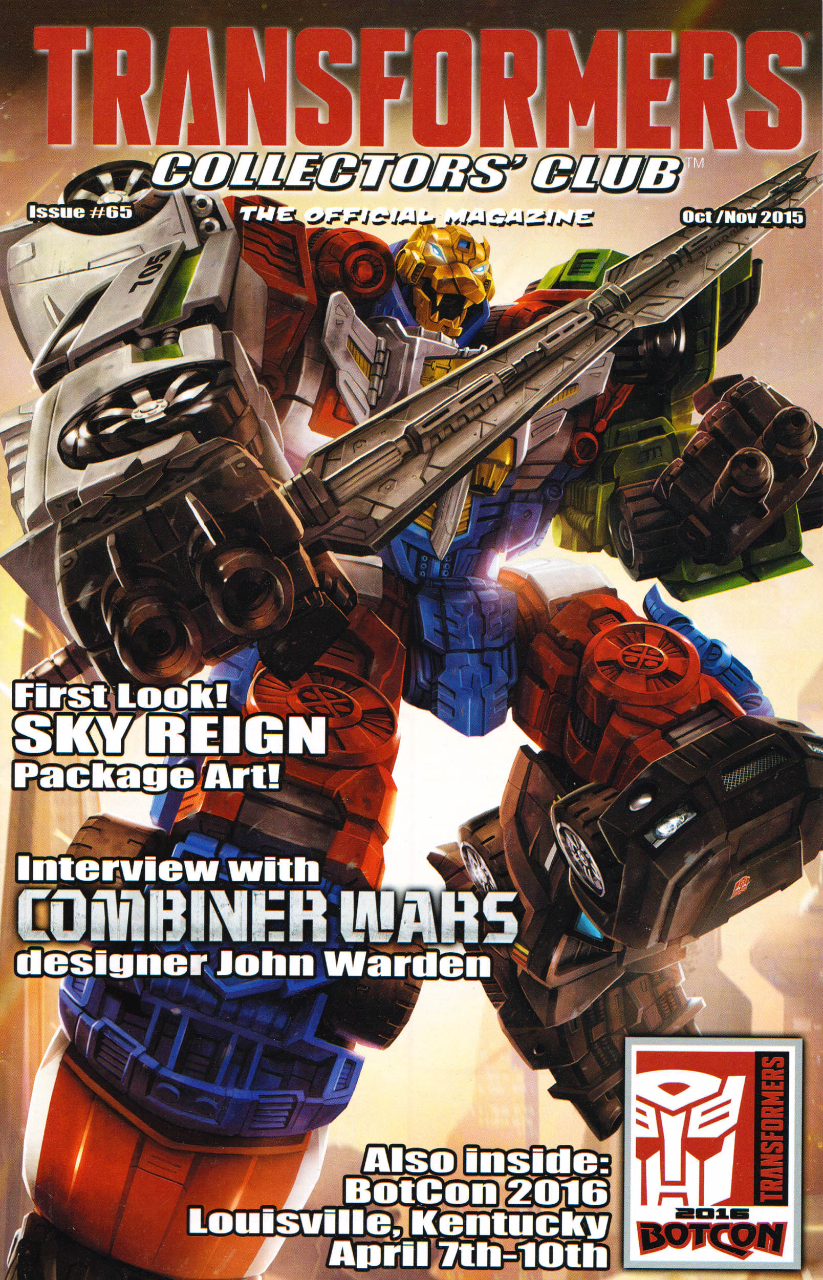 Read online Transformers: Collectors' Club comic -  Issue #65 - 1