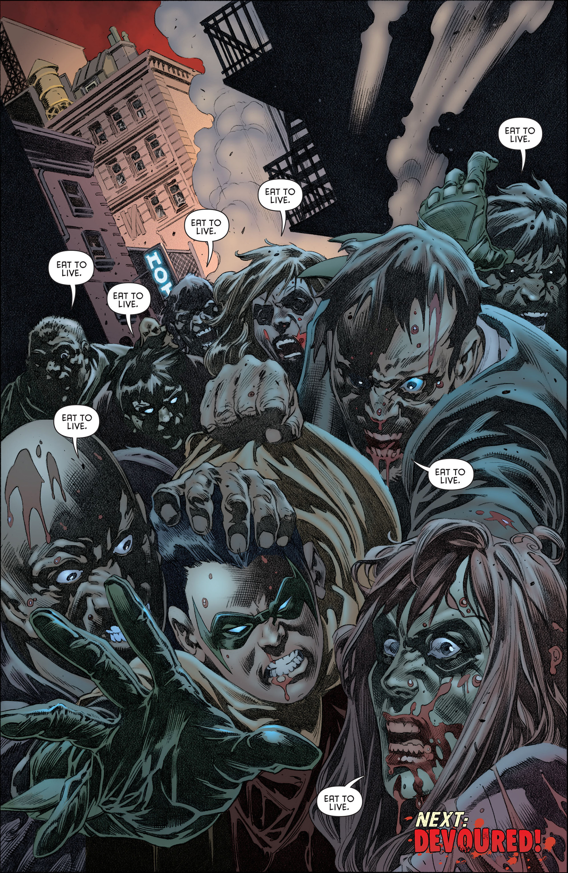 Read online Batman and Robin (2011) comic -  Issue #13 - 21