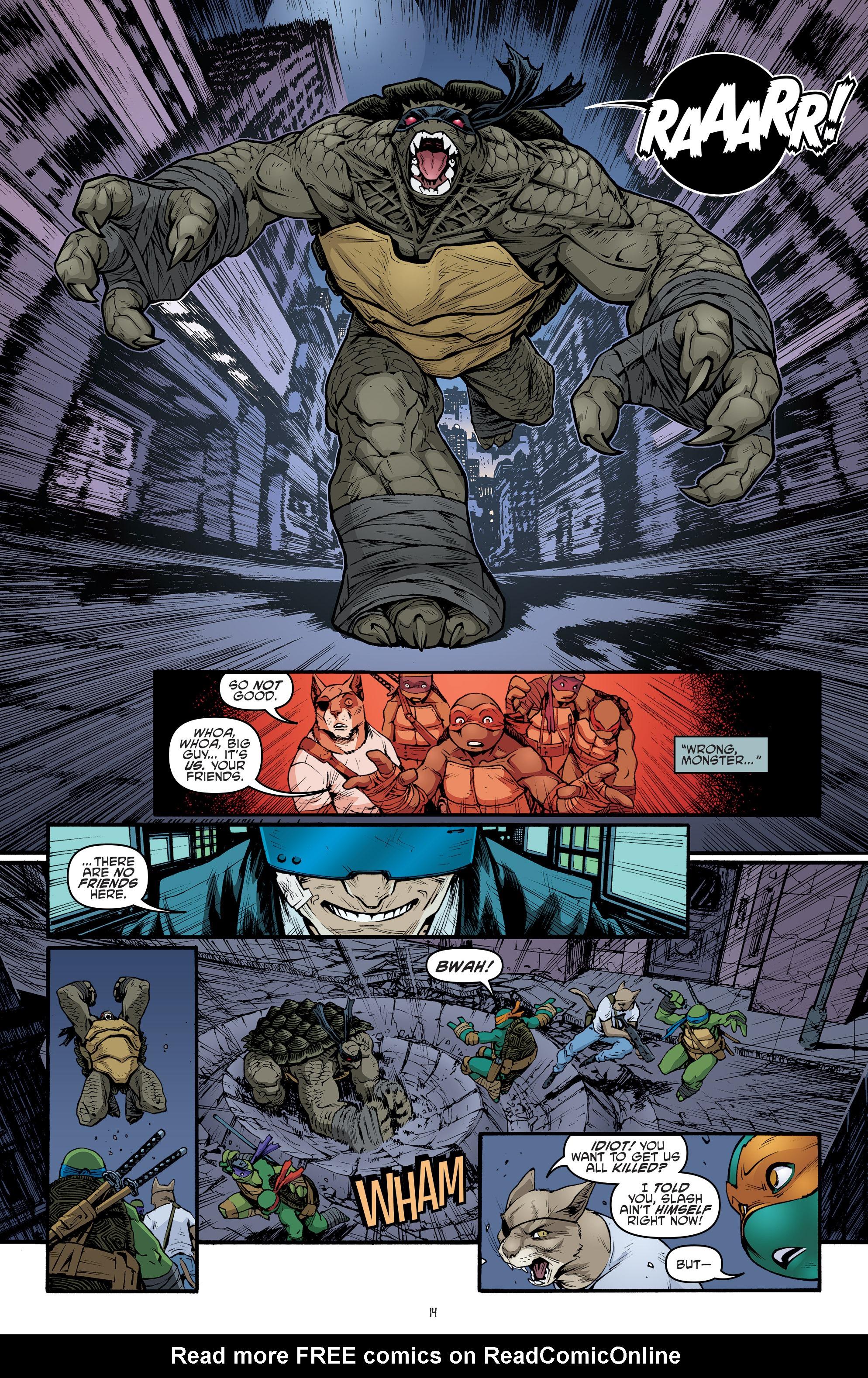 Read online Teenage Mutant Ninja Turtles (2011) comic -  Issue #69 - 16