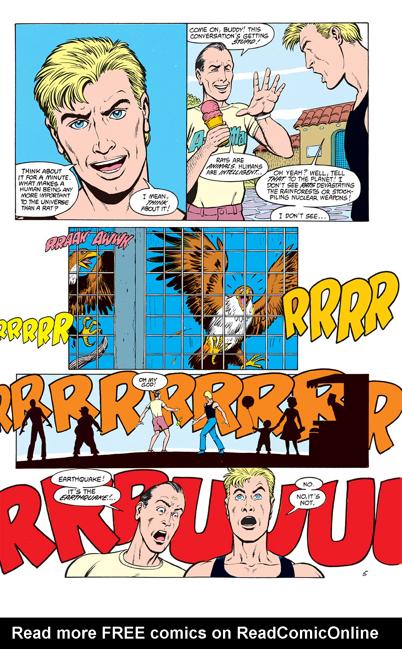 Read online Animal Man (1988) comic -  Issue #6 - 7