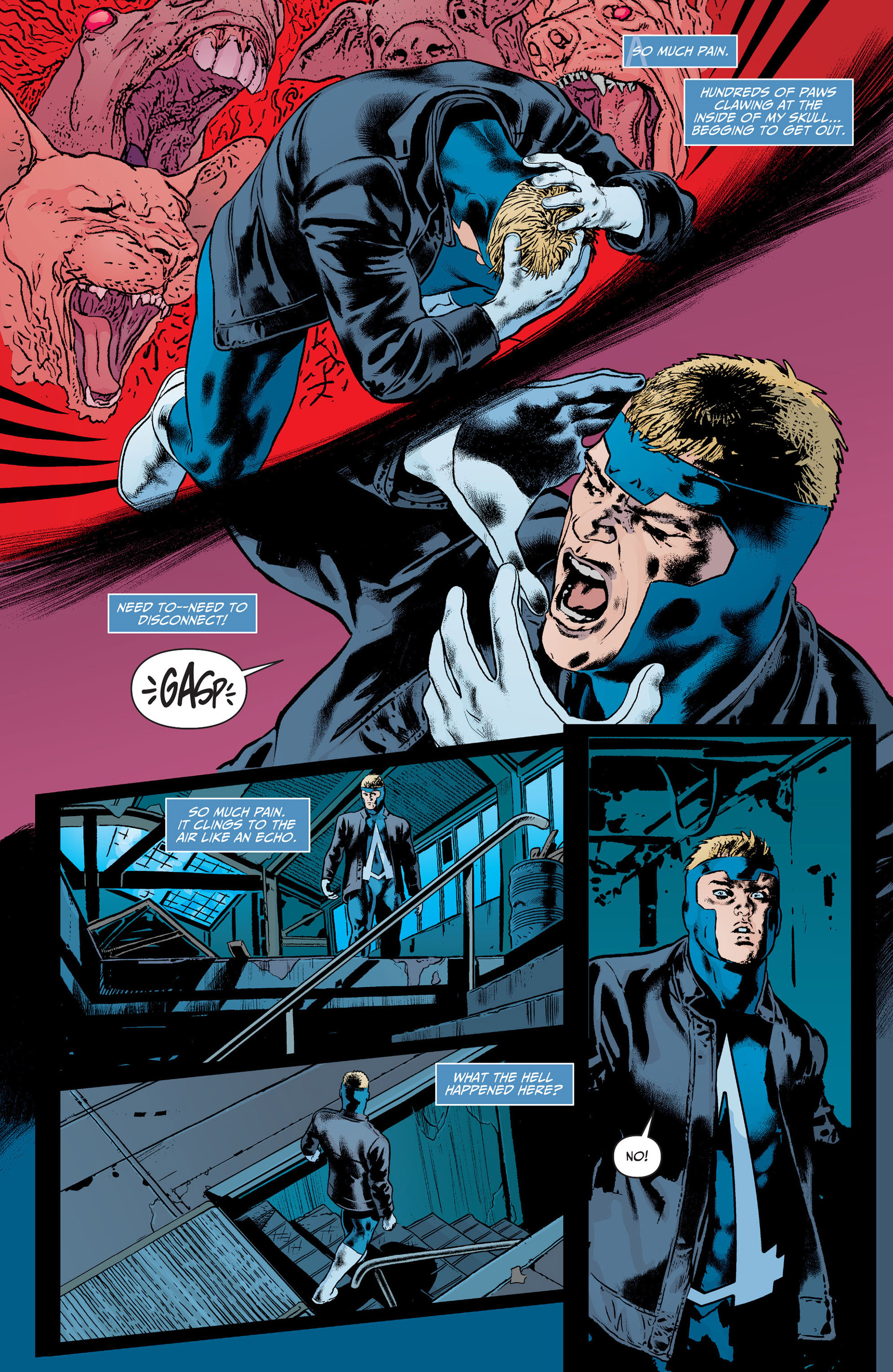 Read online Animal Man (2011) comic -  Issue #21 - 14