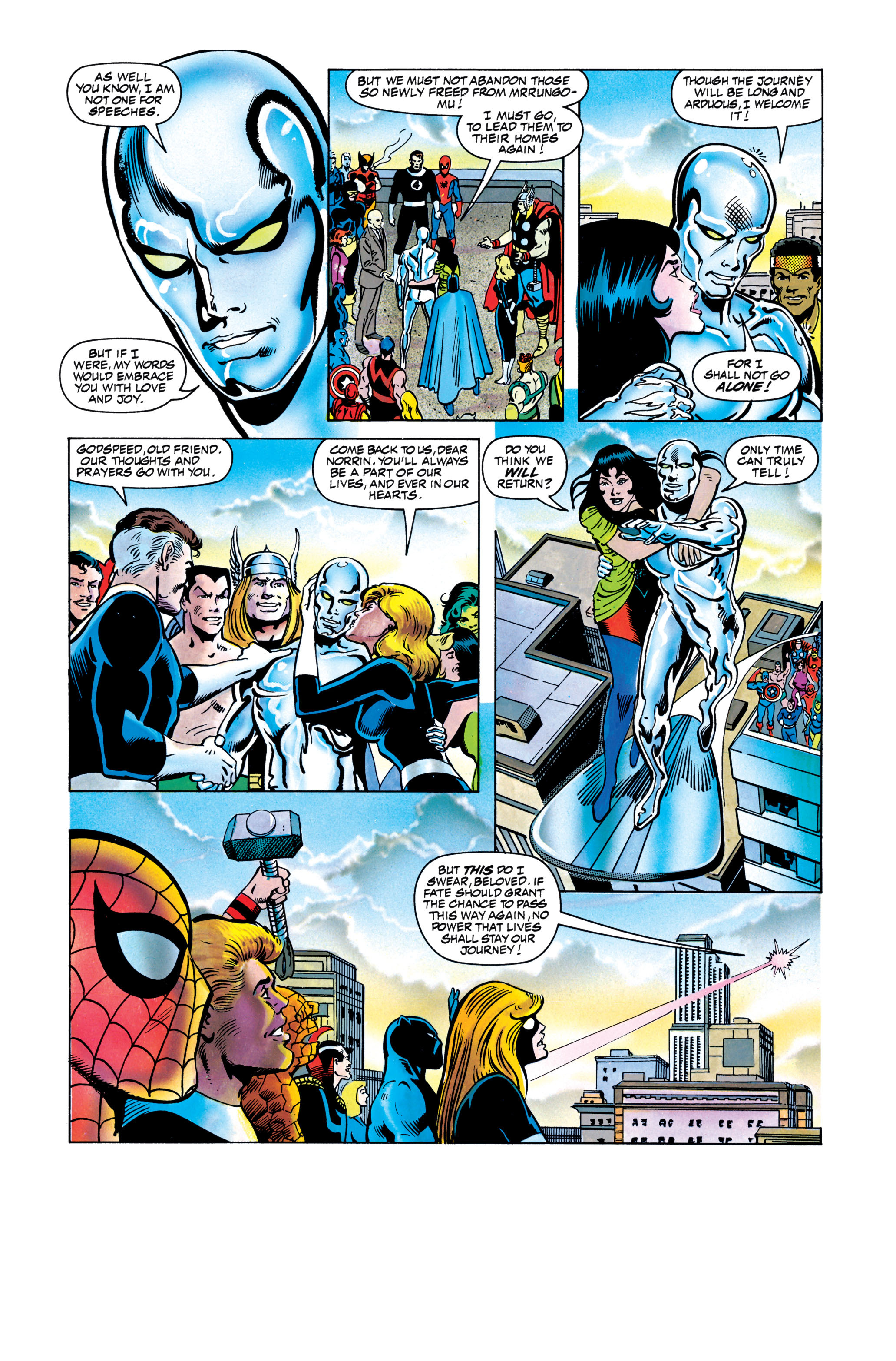 Read online Silver Surfer: Parable comic -  Issue # TPB - 131