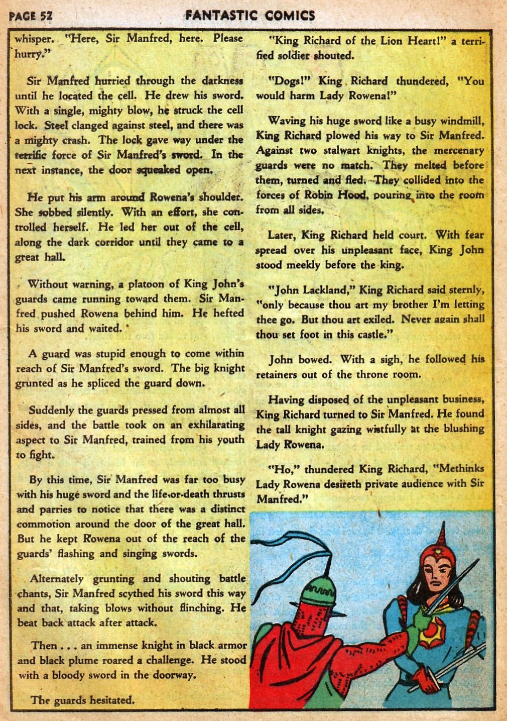 Read online Fantastic Comics comic -  Issue #22 - 53