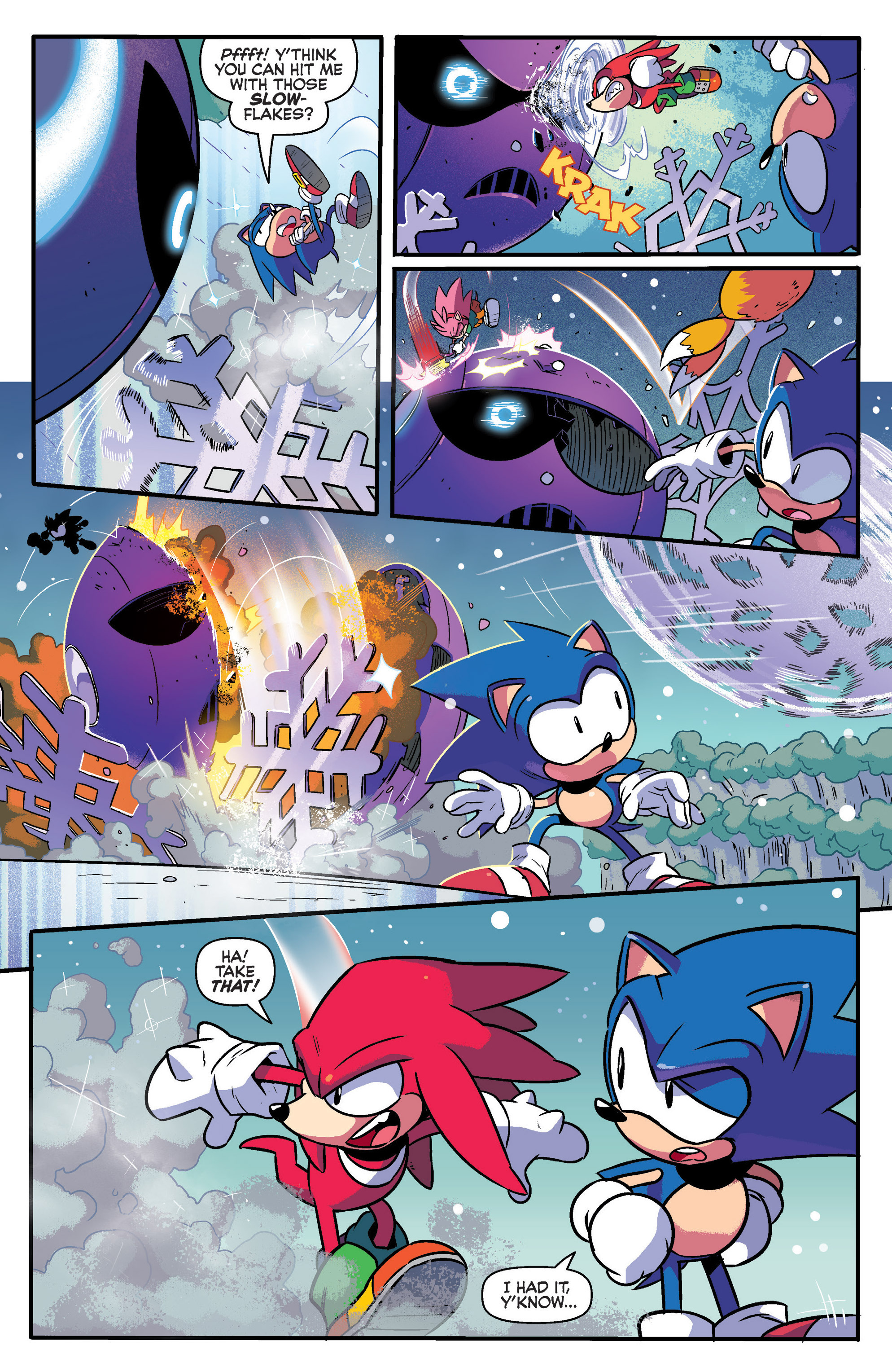 Read online Sonic: Mega Drive - The Next Level comic -  Issue # Full - 4