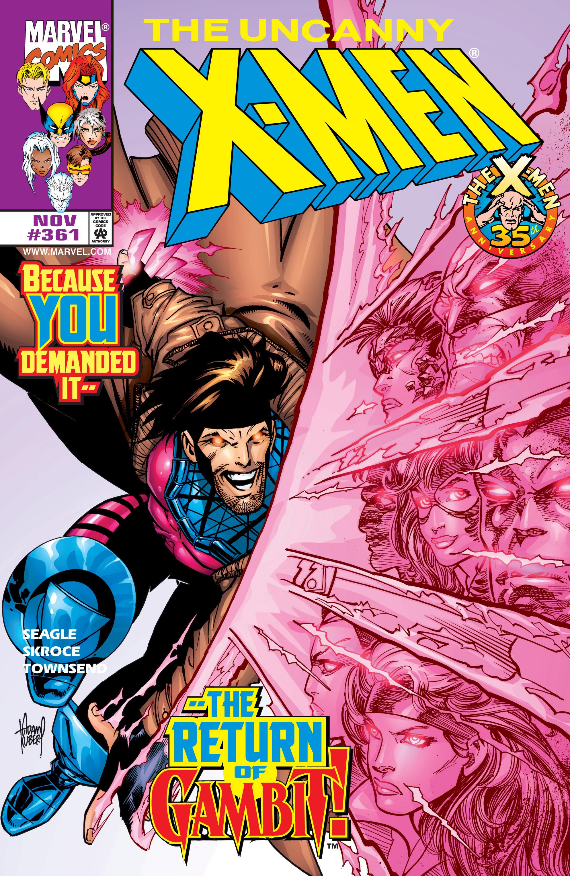 Read online Uncanny X-Men (1963) comic -  Issue #361 - 1