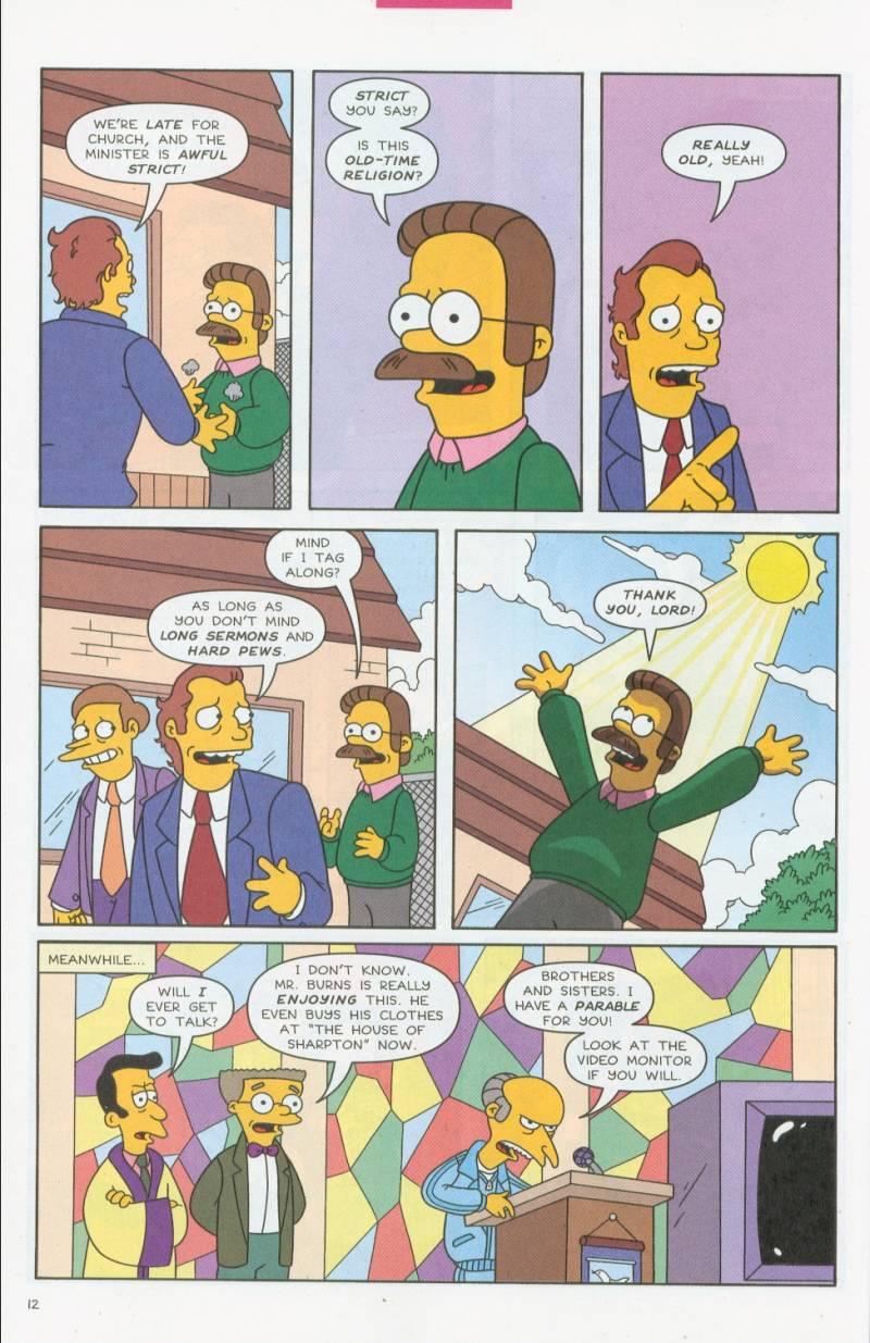 Read online Simpsons Comics comic -  Issue #69 - 13