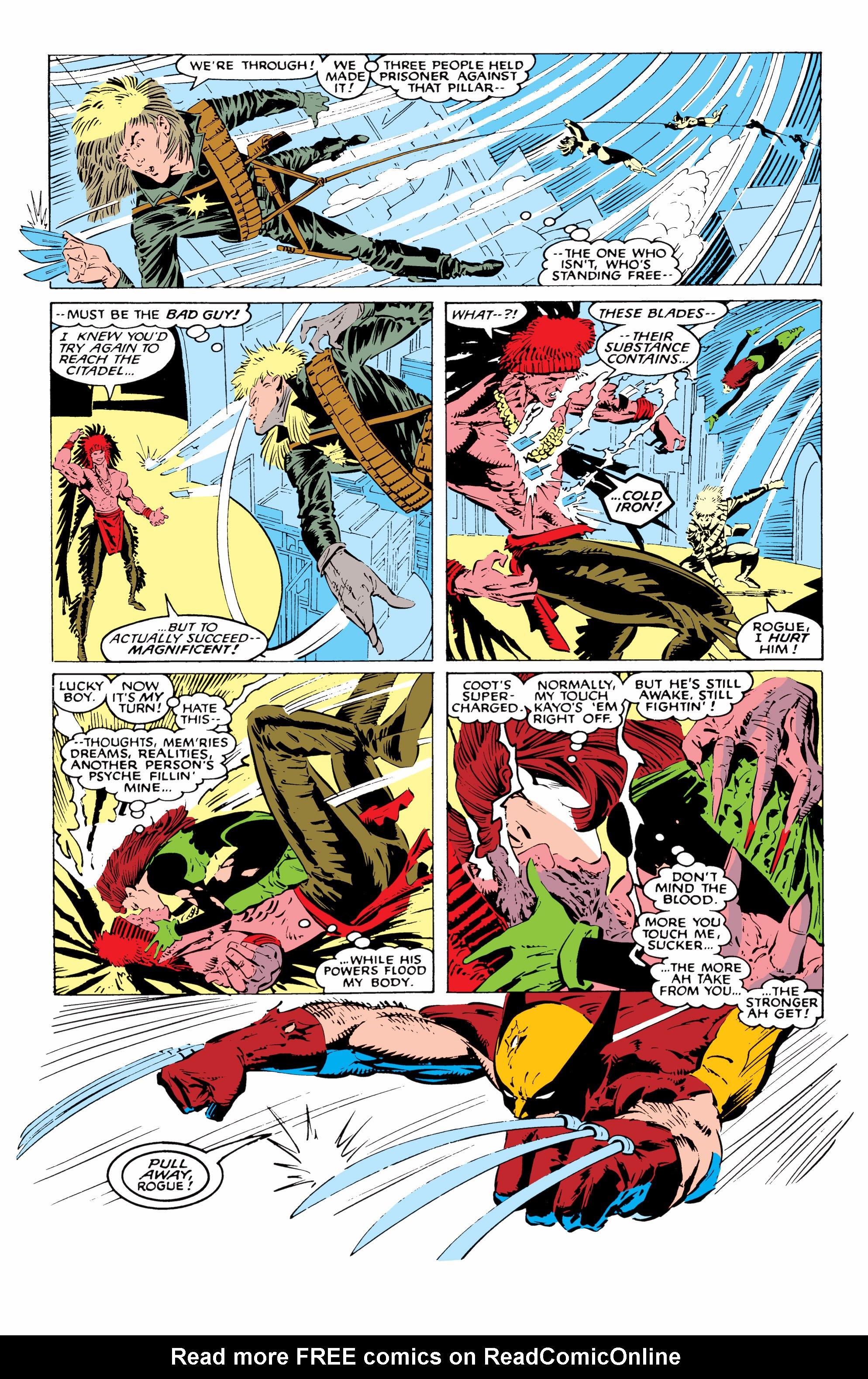 Read online Uncanny X-Men (1963) comic -  Issue #227 - 14