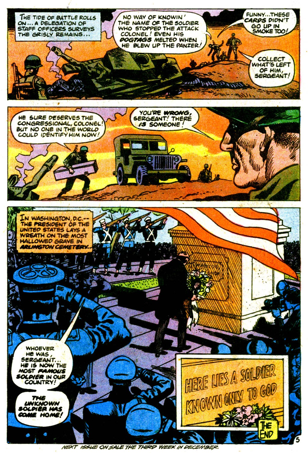 Read online Sgt. Rock comic -  Issue #313 - 30