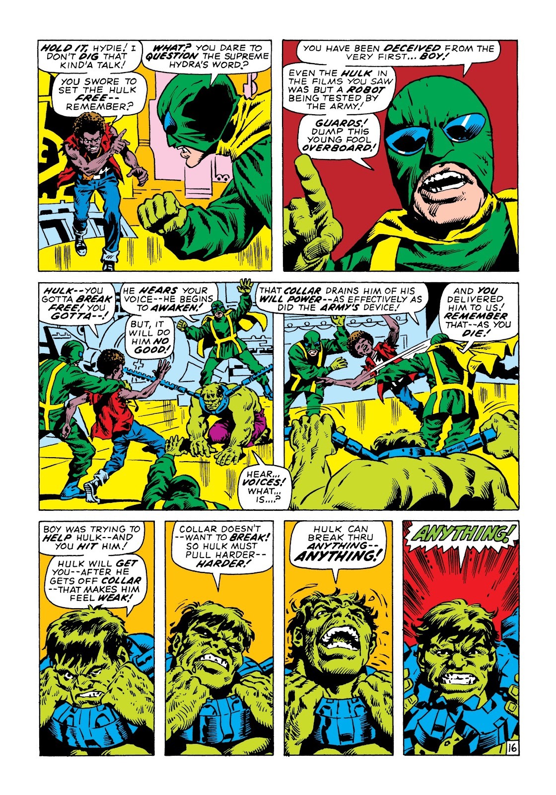 Read online Marvel Masterworks: The Incredible Hulk comic -  Issue # TPB 6 (Part 3) - 29