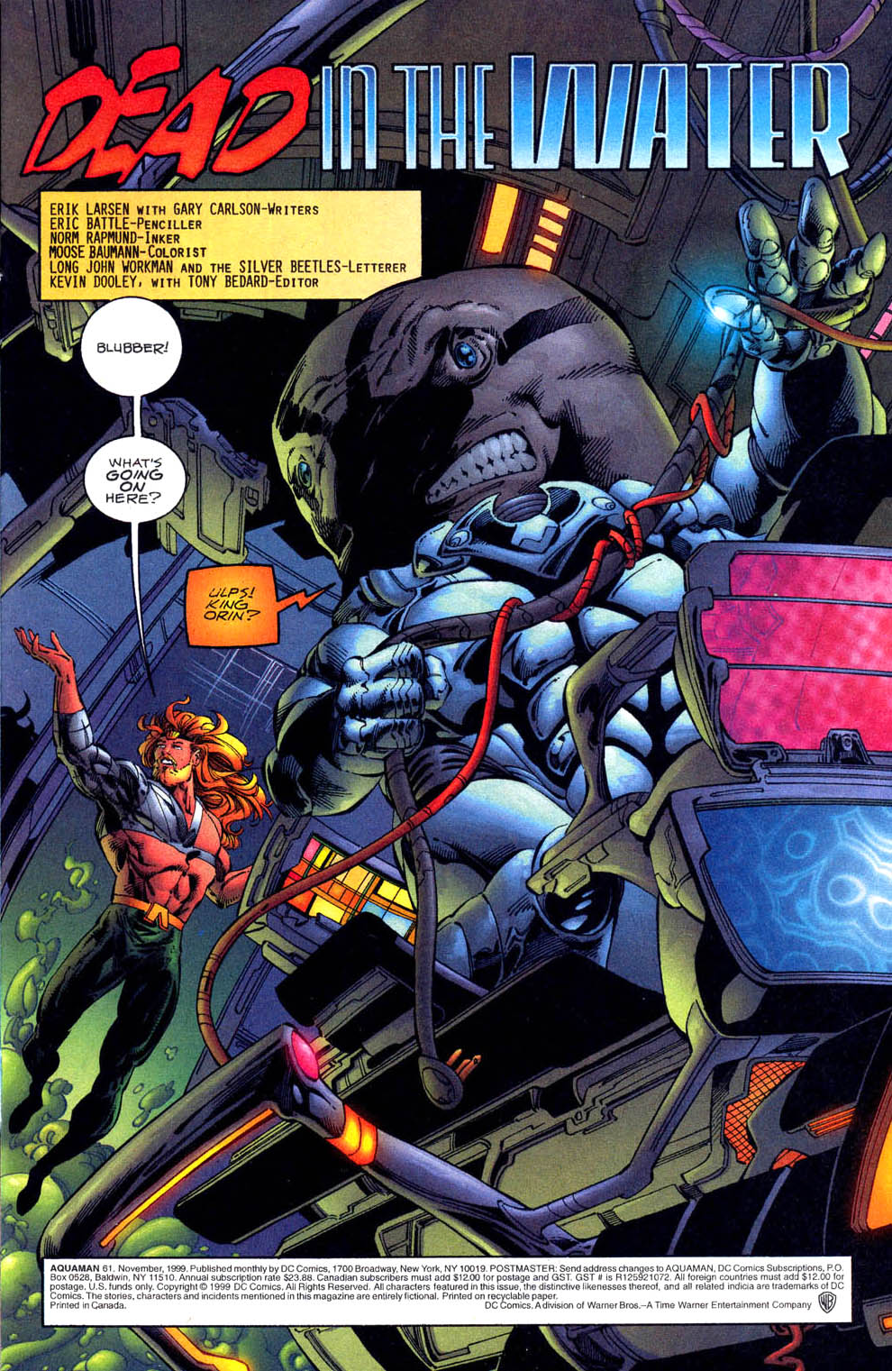 Read online Aquaman (1994) comic -  Issue #61 - 2