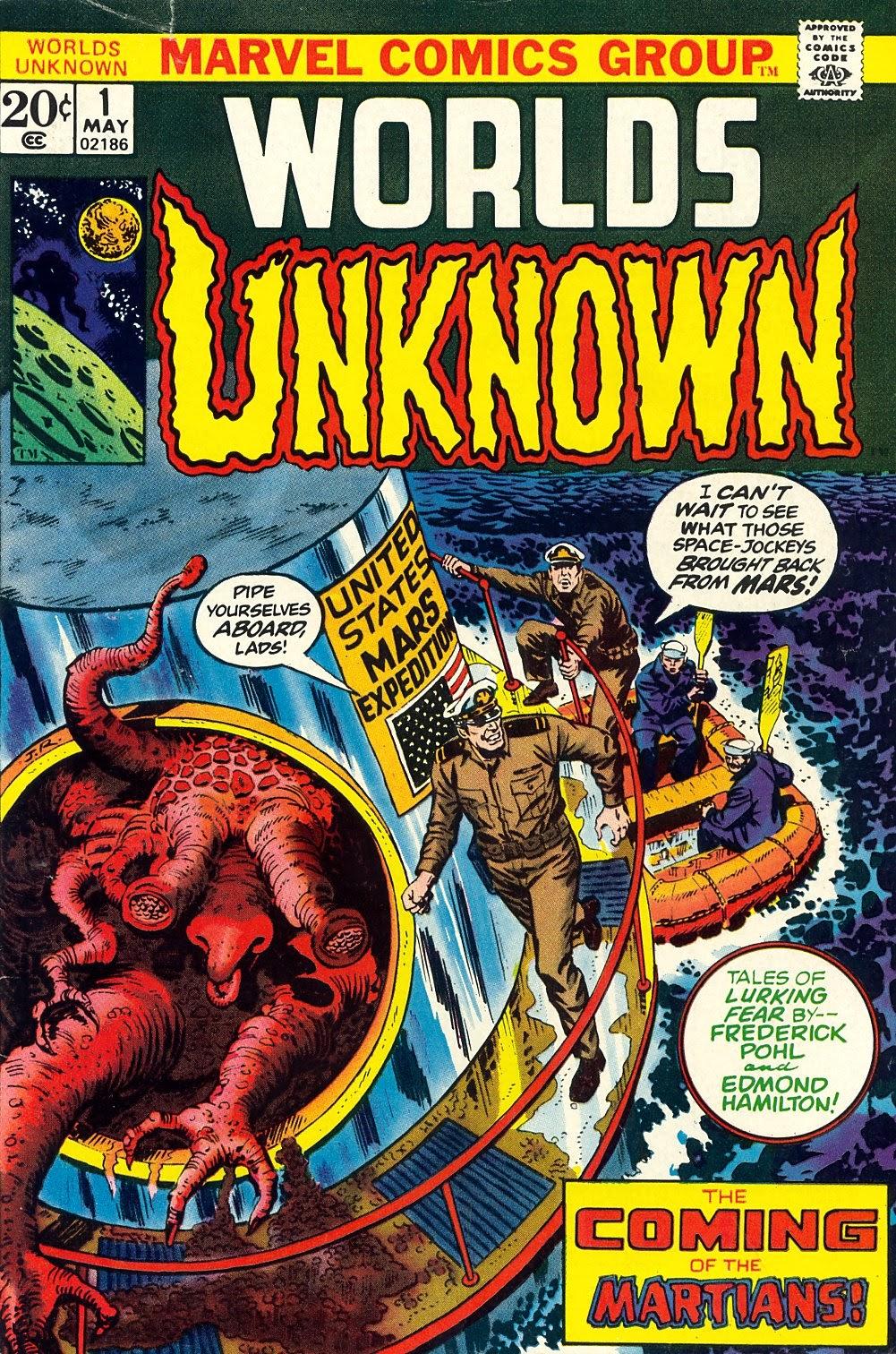 Worlds Unknown 1 Page 1