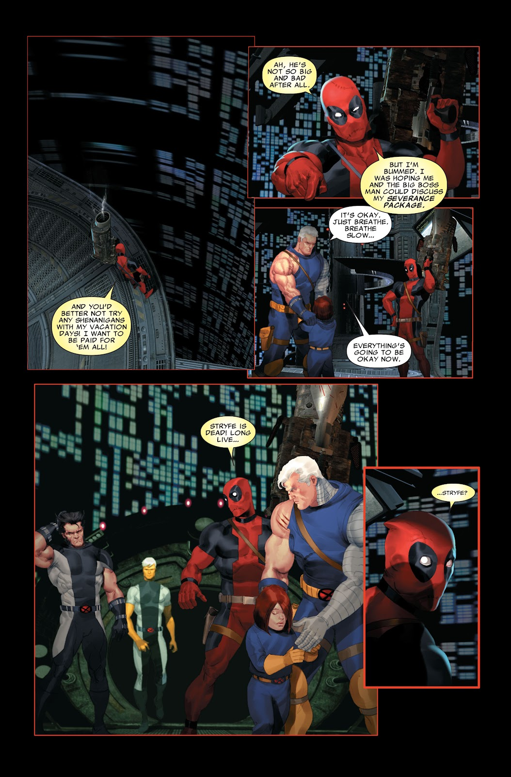 Read online X-Force/Cable: Messiah War comic -  Issue # _TPB (Part 2) - 114