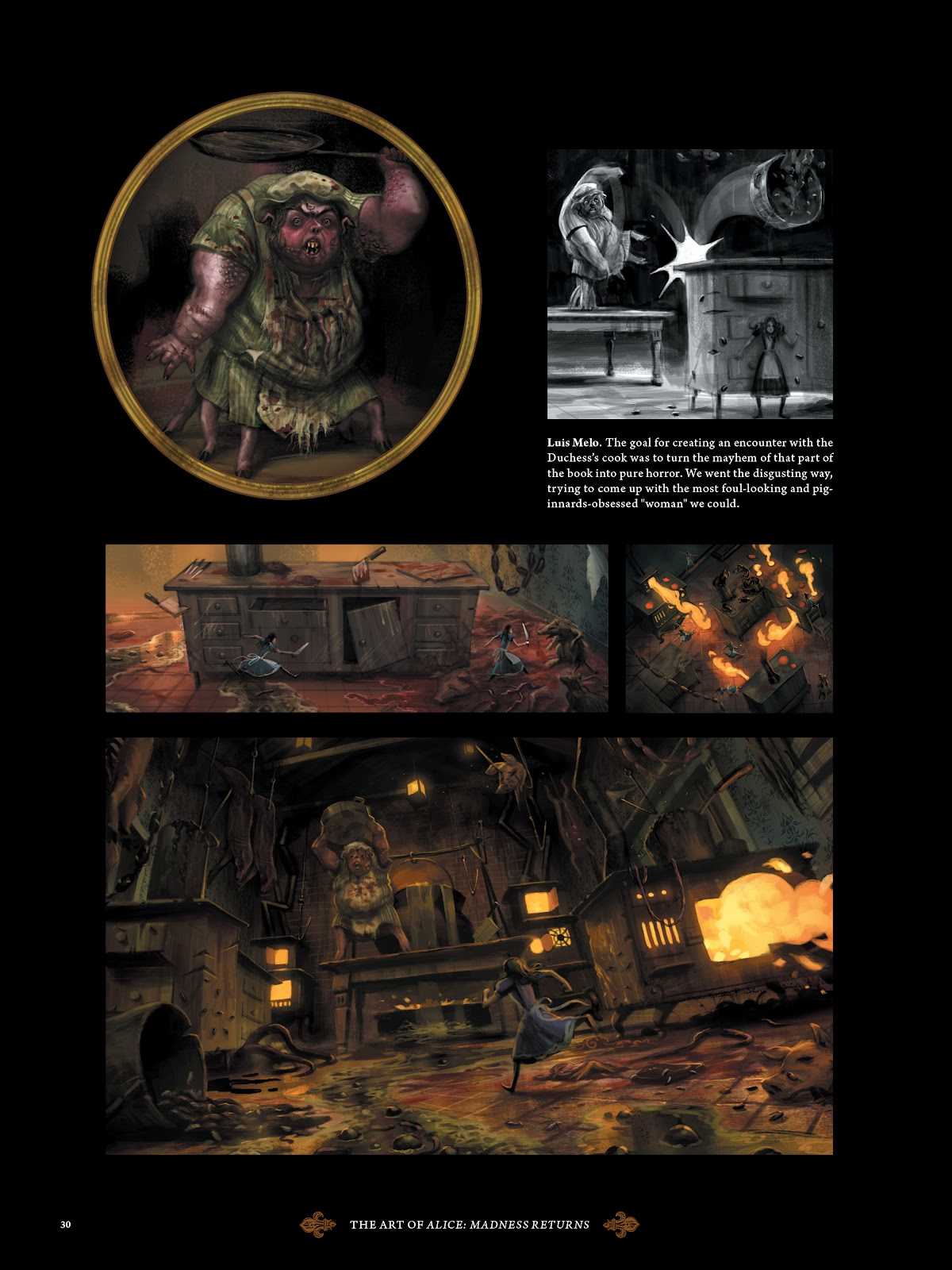 Read online The Art of Alice: Madness Returns comic -  Issue # TPB (Part 1) - 29