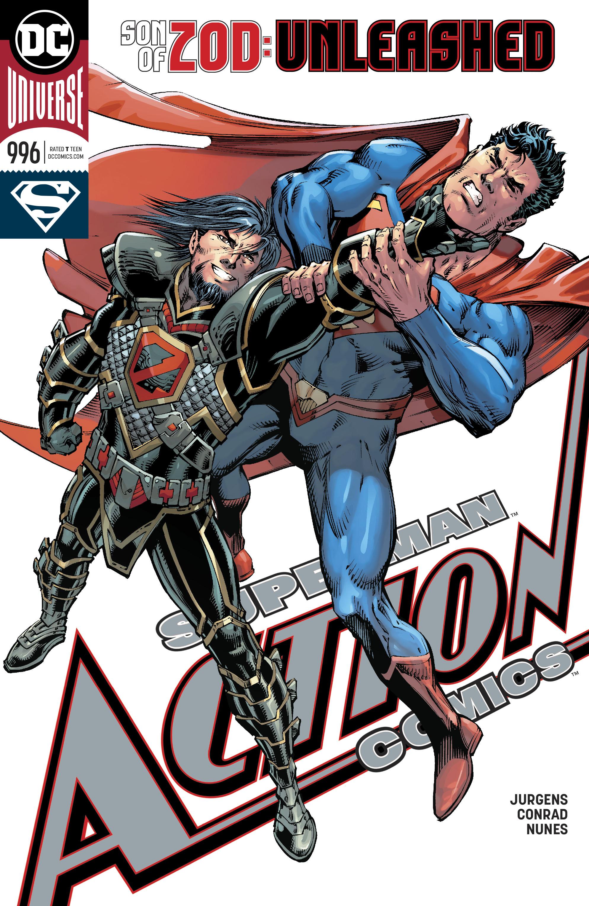 Action Comics (2016) 996 Page 1