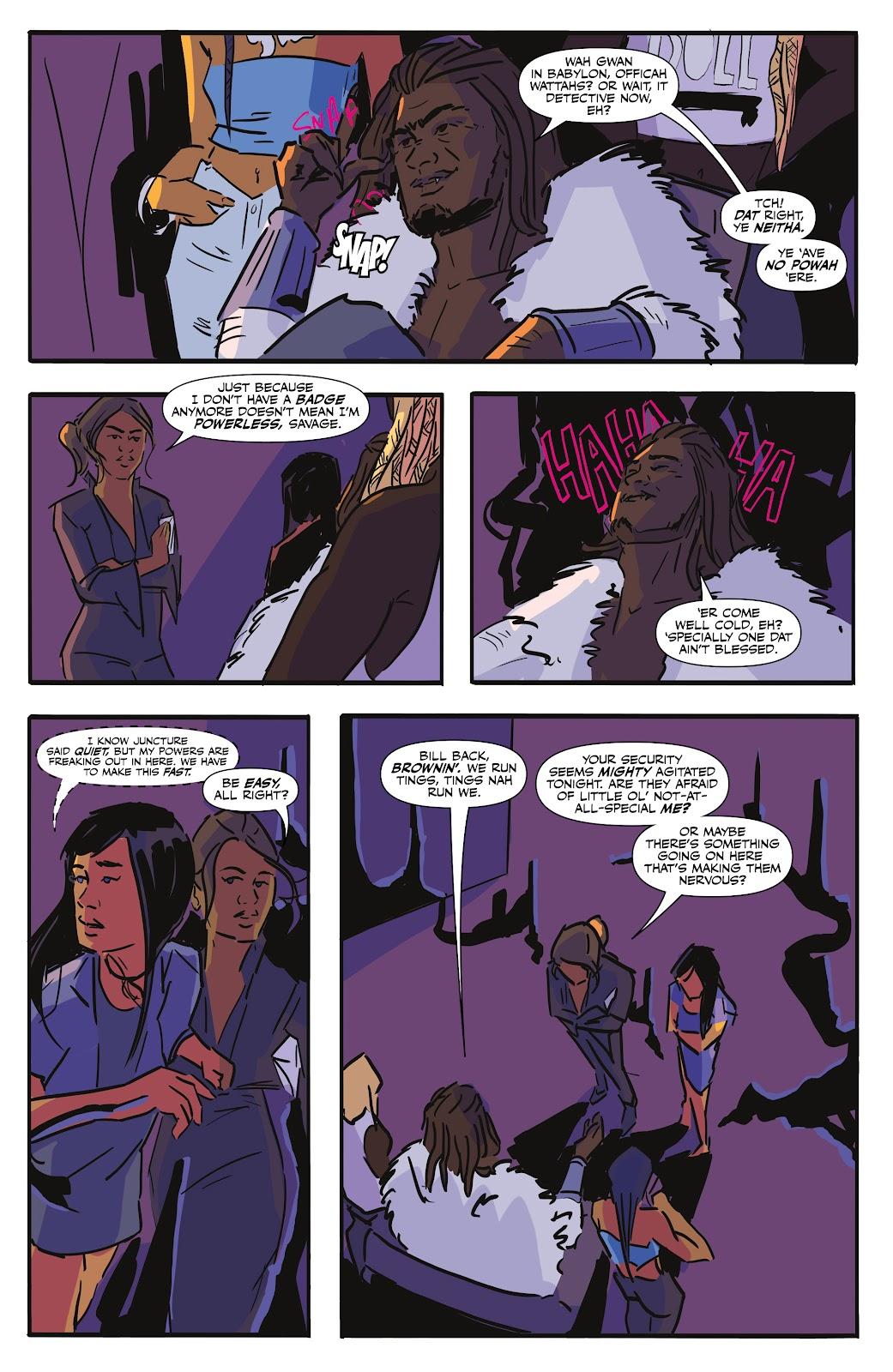Read online Black (AF): Devil's Dye comic -  Issue #2 - 9