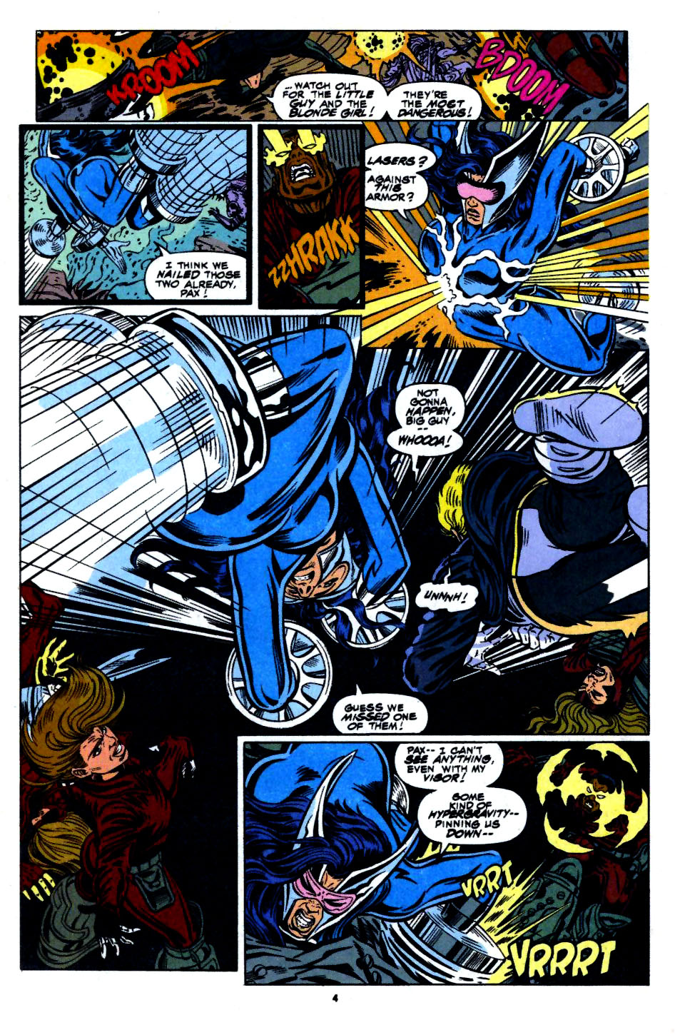 The New Warriors Issue #56 #60 - English 5