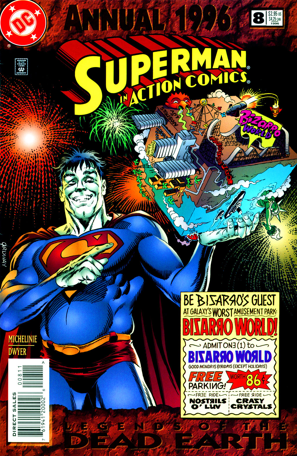 Read online Action Comics (1938) comic -  Issue #Action Comics (1938) _Annual 8 - 1