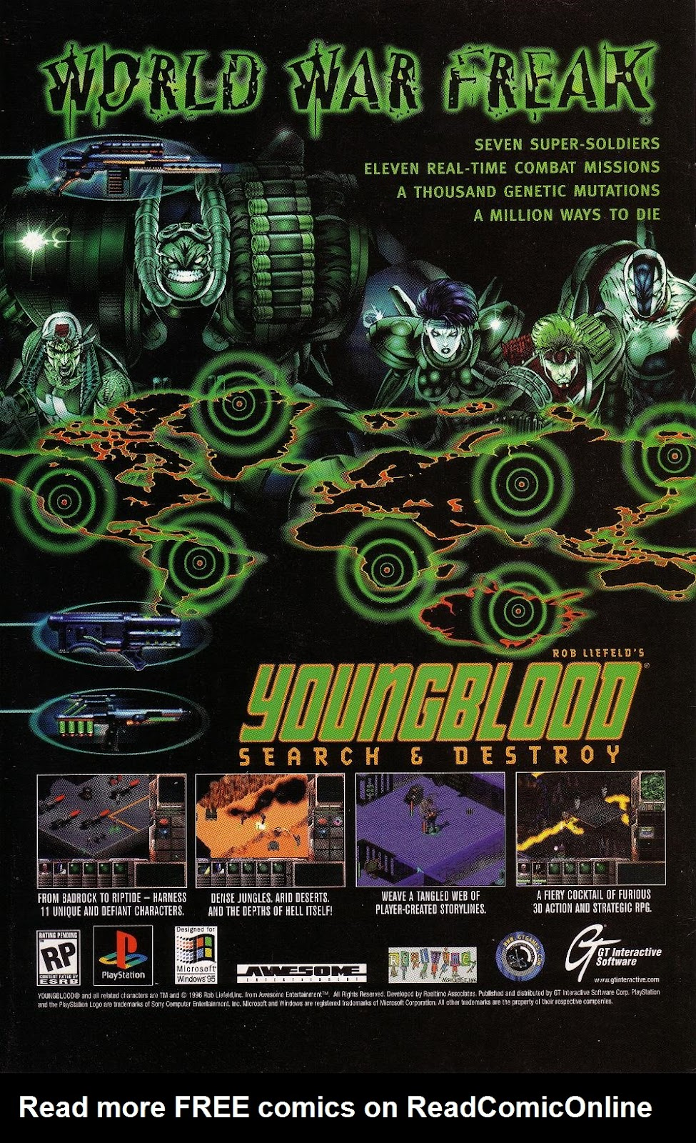 Read online Youngblood GT Interactive Ultra Game Players Special Edition comic -  Issue # Full - 27