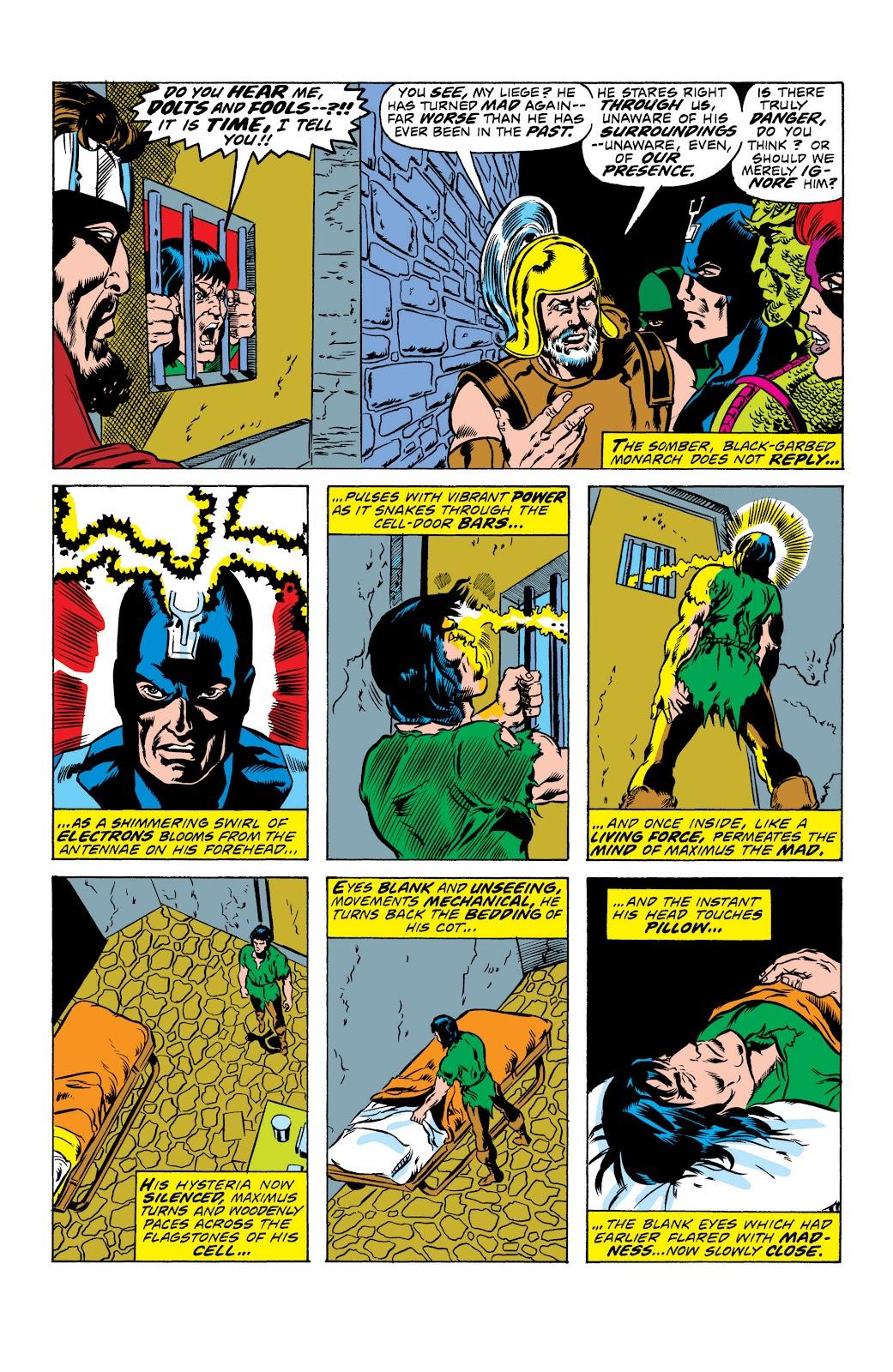 Read online Marvel Masterworks: The Inhumans comic -  Issue # TPB 2 (Part 1) - 9