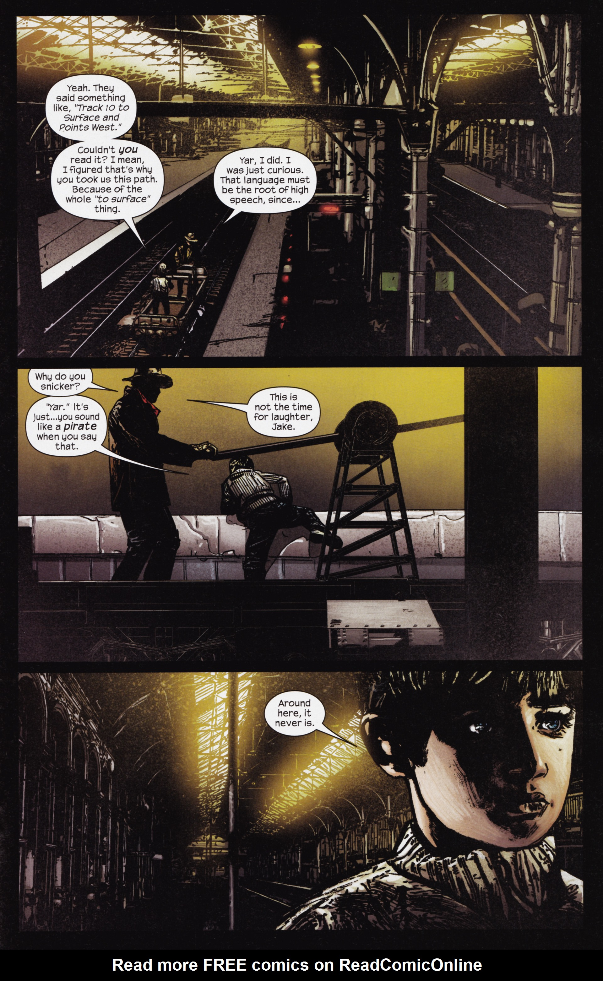 Read online Dark Tower: The Gunslinger - The Man in Black comic -  Issue #3 - 17