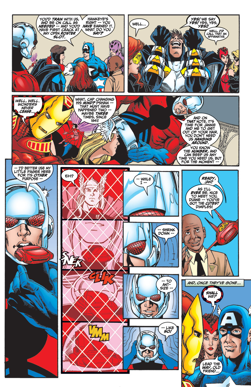 Read online Avengers (1998) comic -  Issue #4 - 21