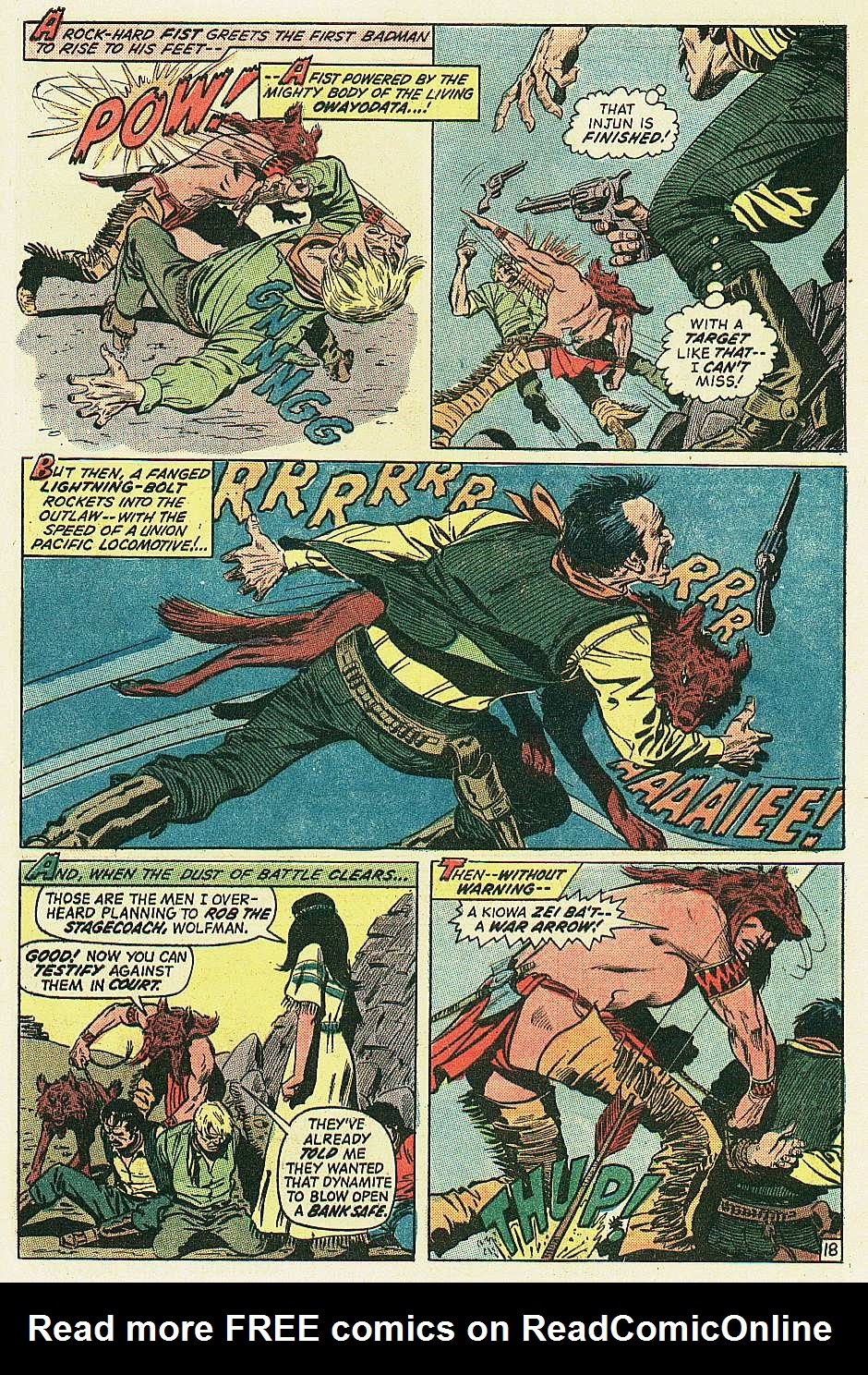 Red Wolf (1972) issue 2 - Page 19