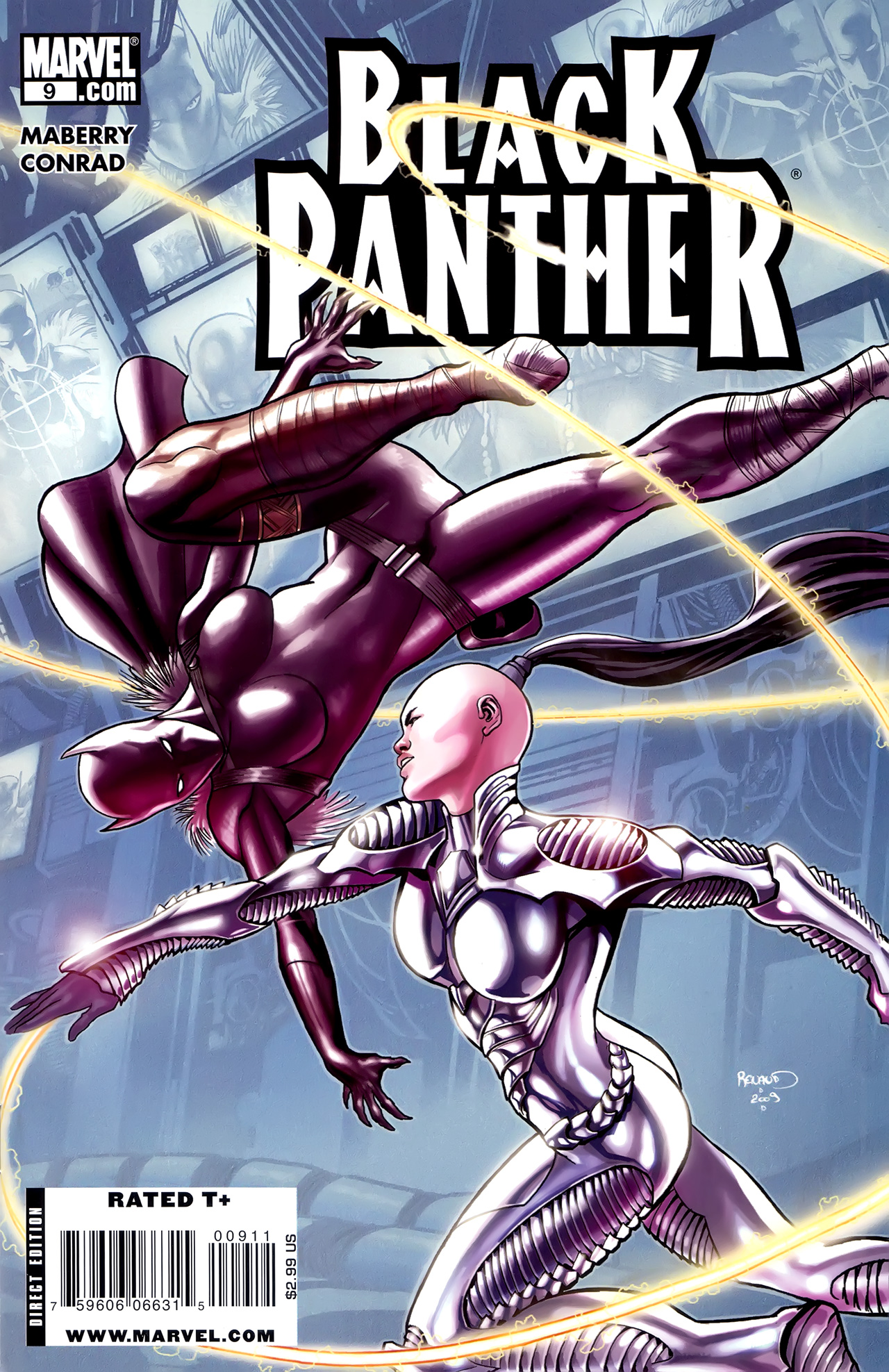 Black Panther (2009) 9 Page 1