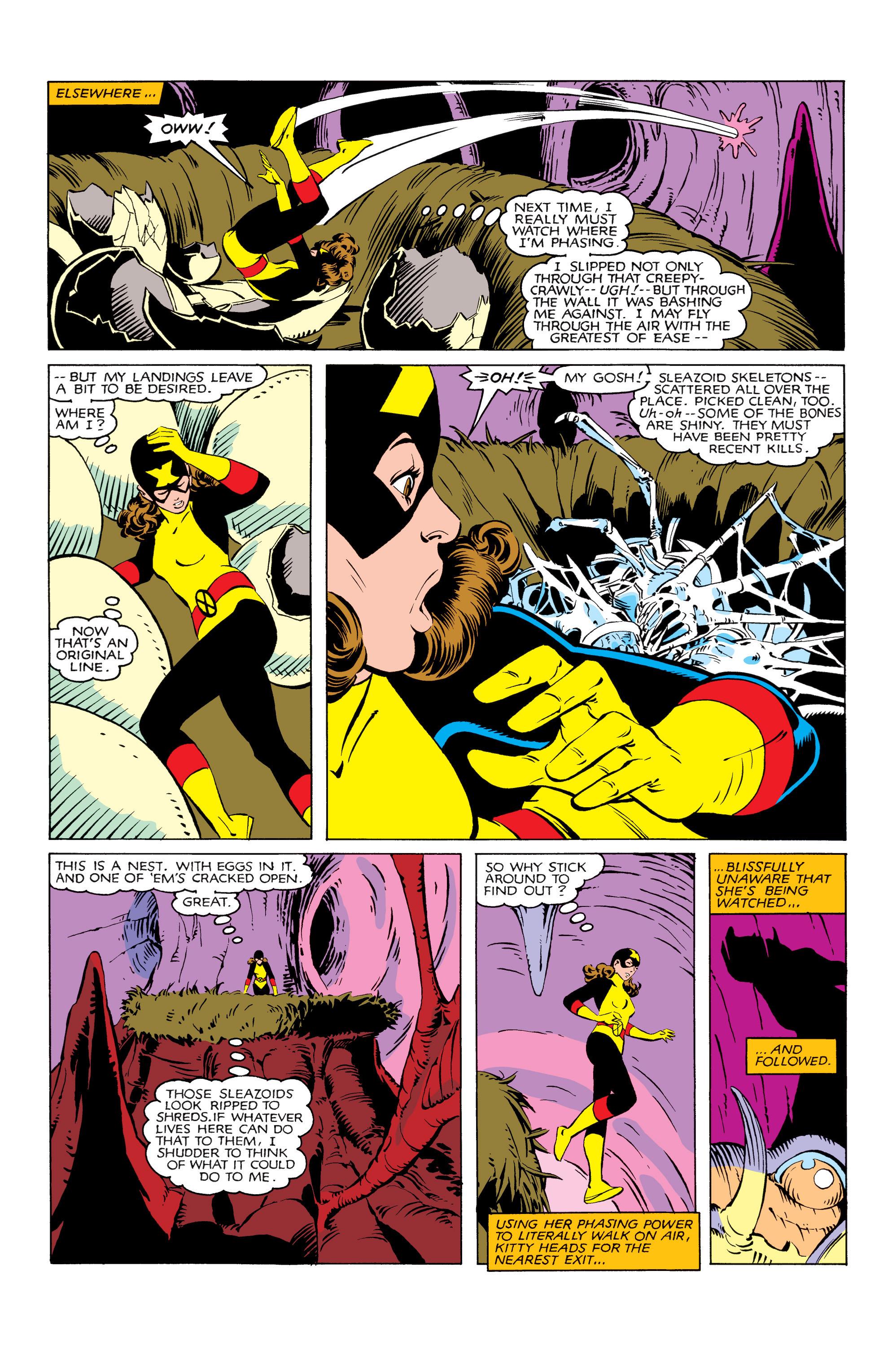 Read online Uncanny X-Men (1963) comic -  Issue #166 - 21