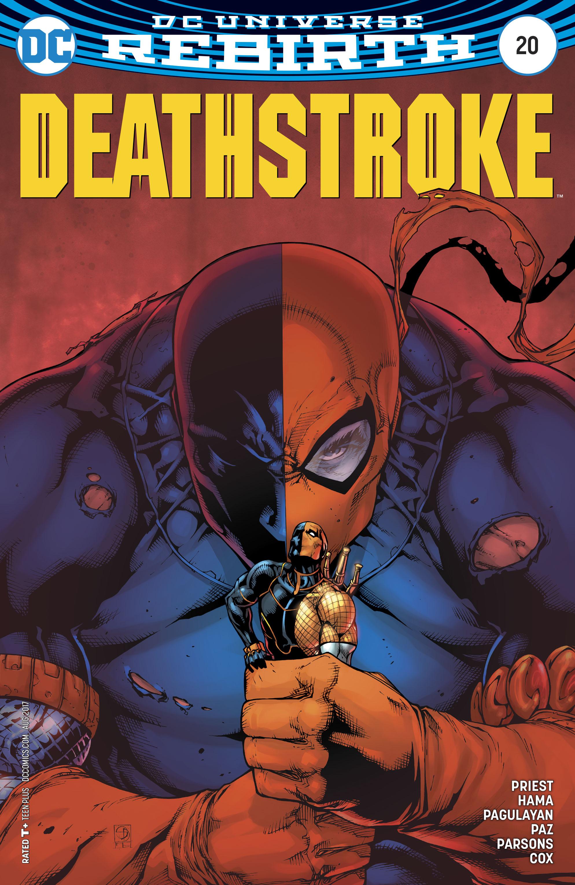 Read online Deathstroke (2016) comic -  Issue #20 - 3