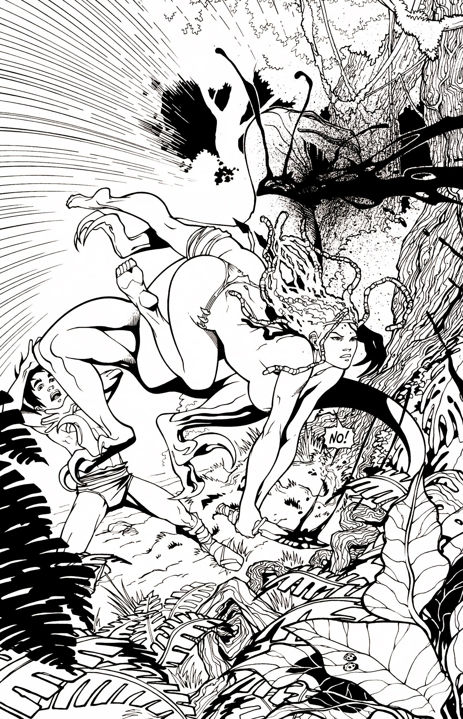 Read online Jungle Fantasy (2002) comic -  Issue # _Annual 1 - 5