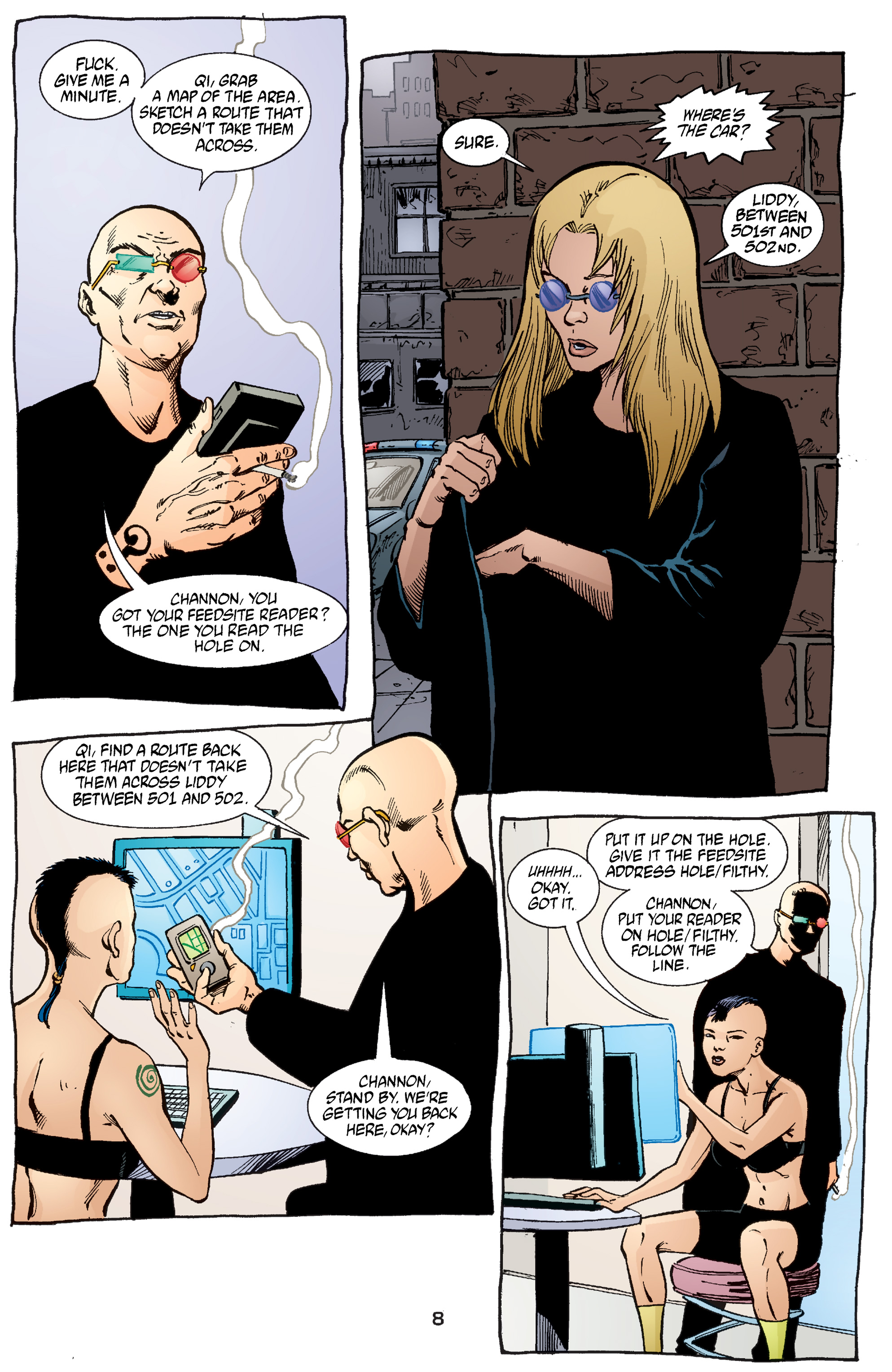 Read online Transmetropolitan comic -  Issue #54 - 9
