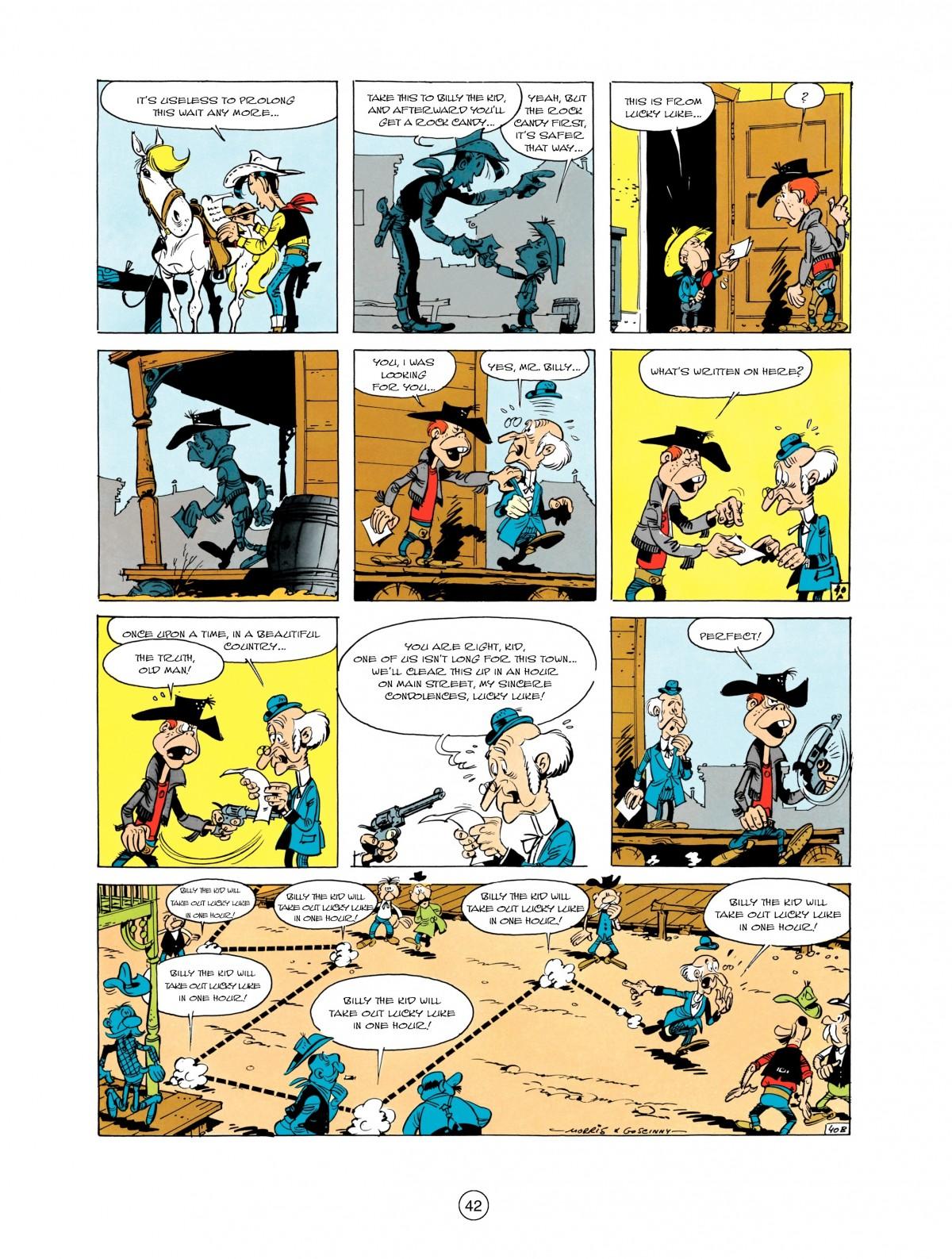 Read online A Lucky Luke Adventure comic -  Issue #1 - 44