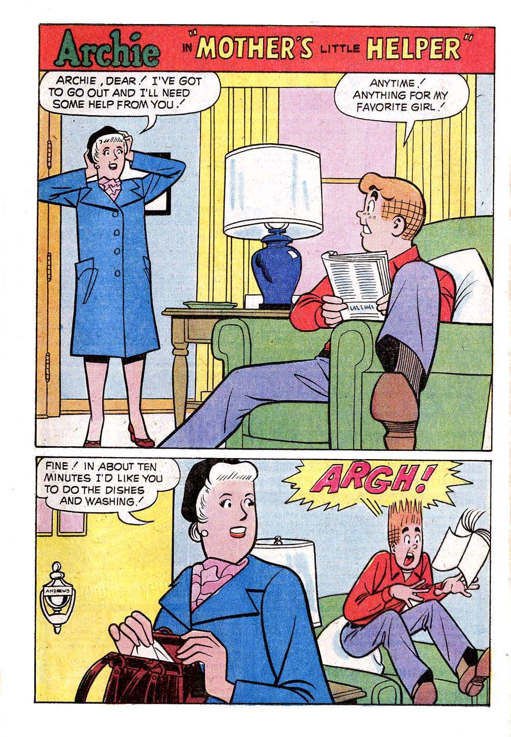 Read online Archie (1960) comic -  Issue #235 - 20