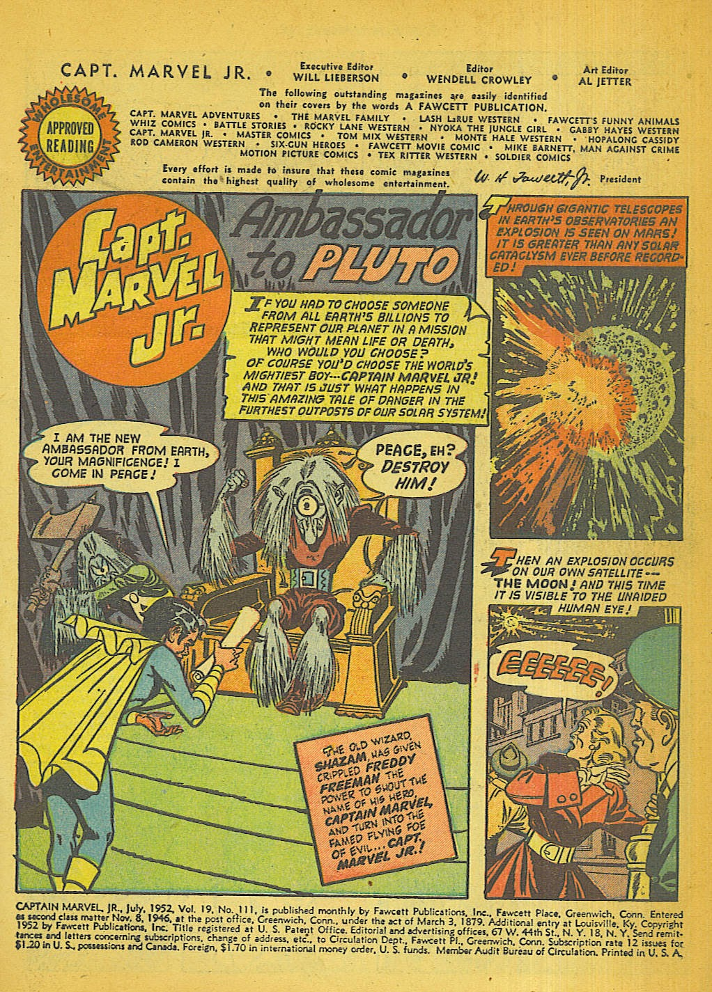 Captain Marvel, Jr. issue 111 - Page 2