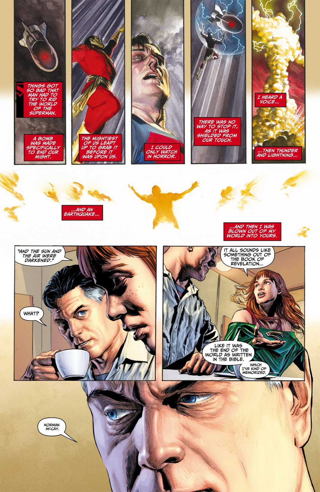 Read online JSA Kingdom Come Special: Superman comic -  Issue # Full - 6