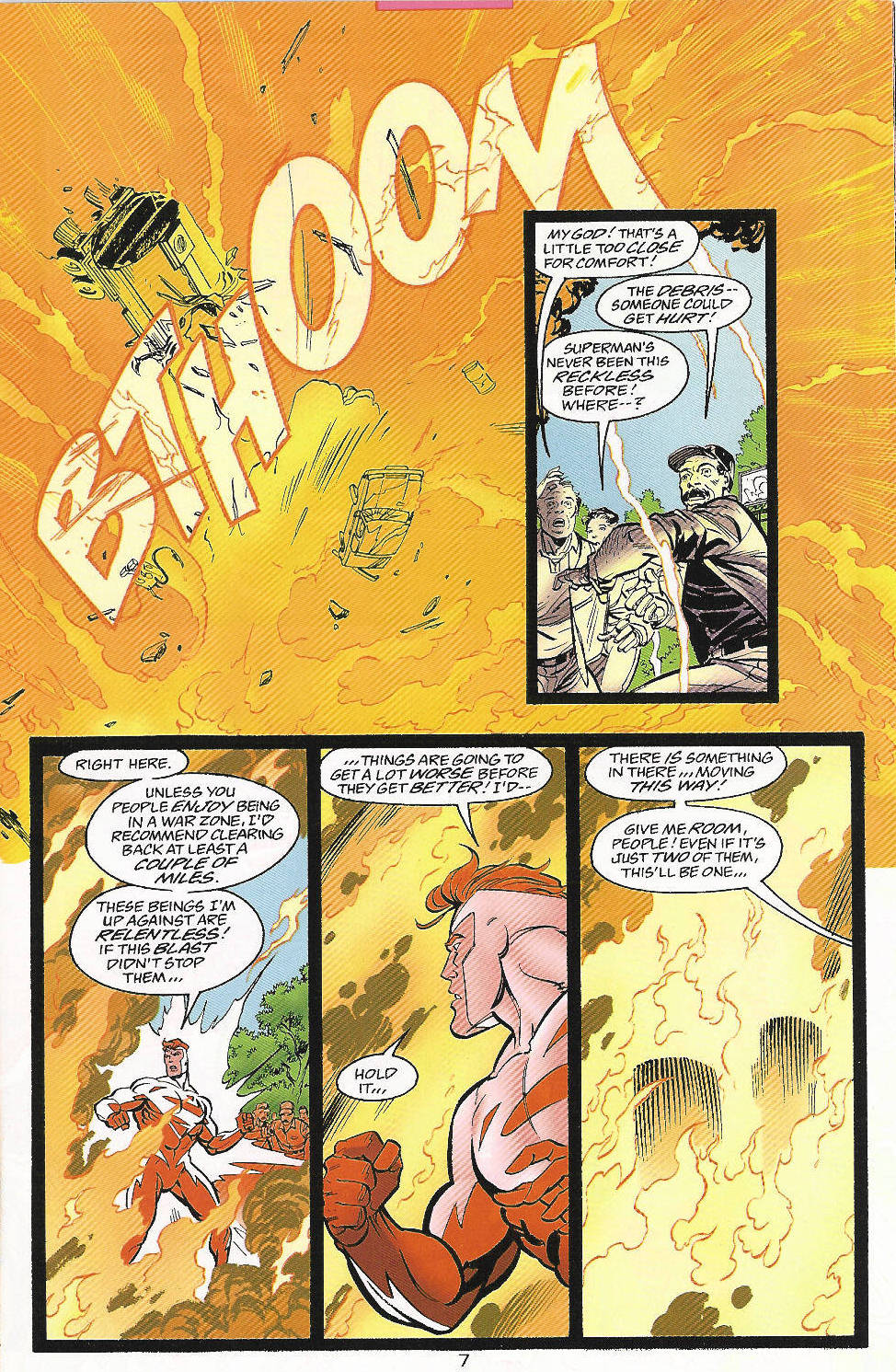 Read online Adventures of Superman (1987) comic -  Issue #556 - 8