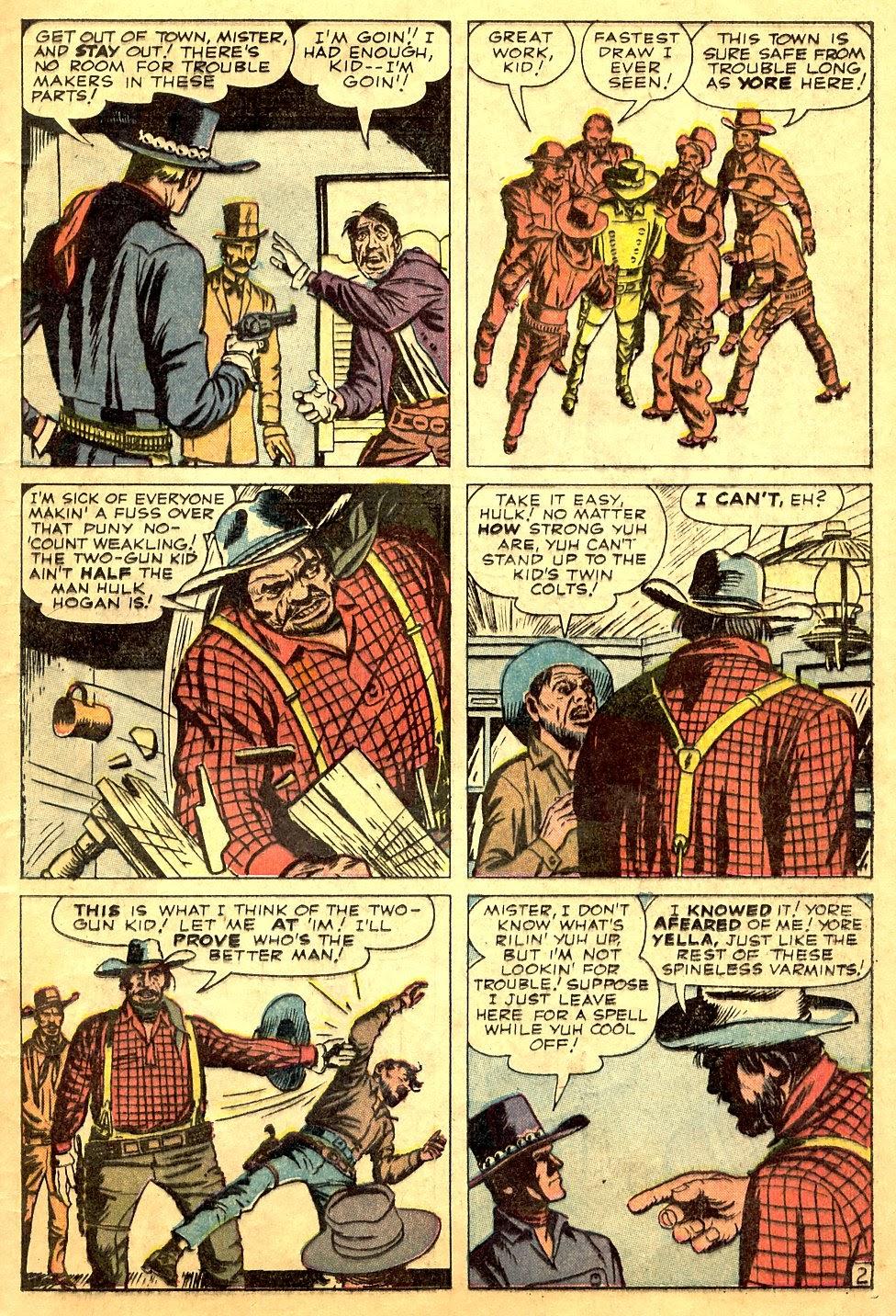 Gunsmoke Western issue 63 - Page 13