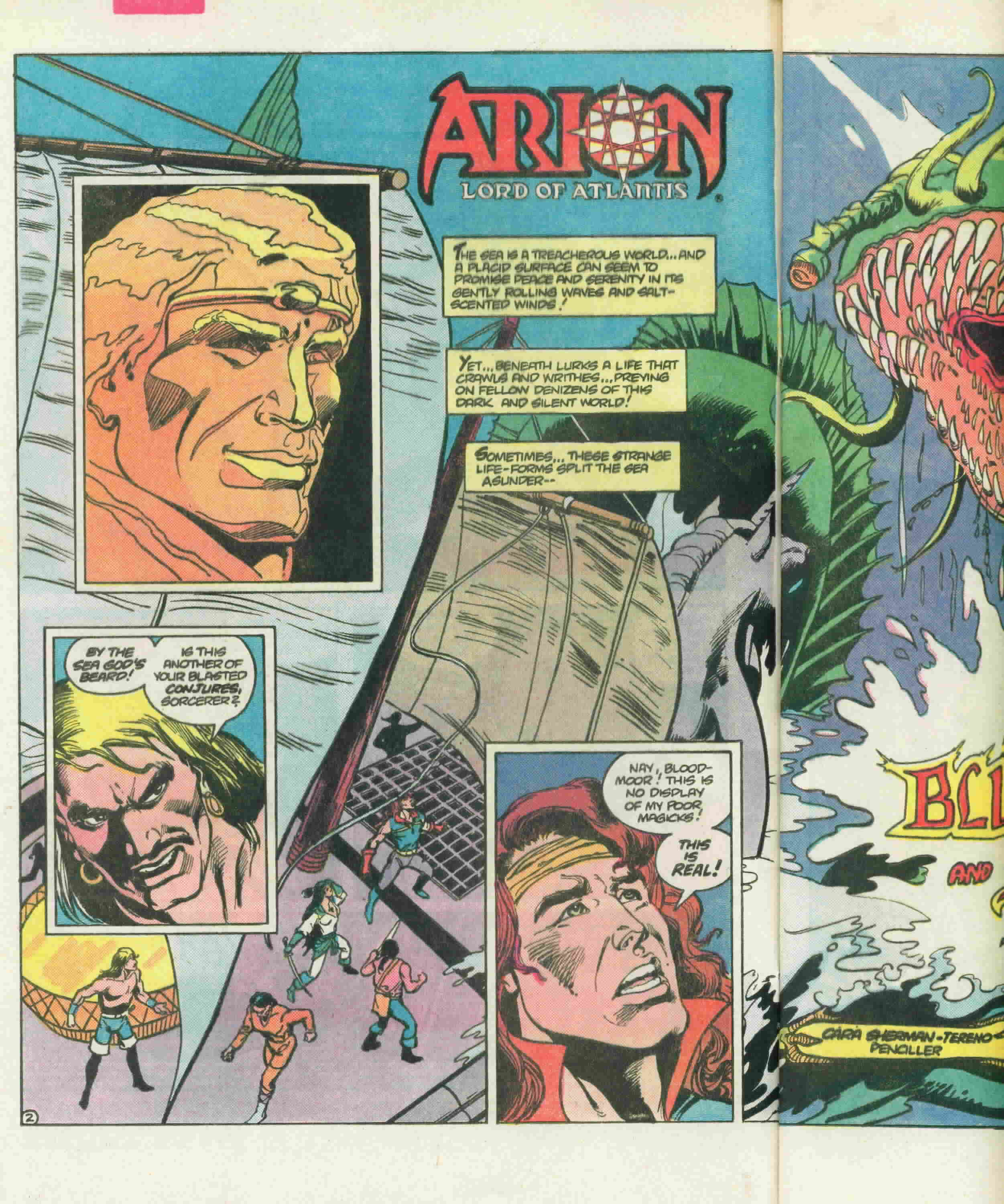Read online Arion, Lord of Atlantis comic -  Issue #22 - 5