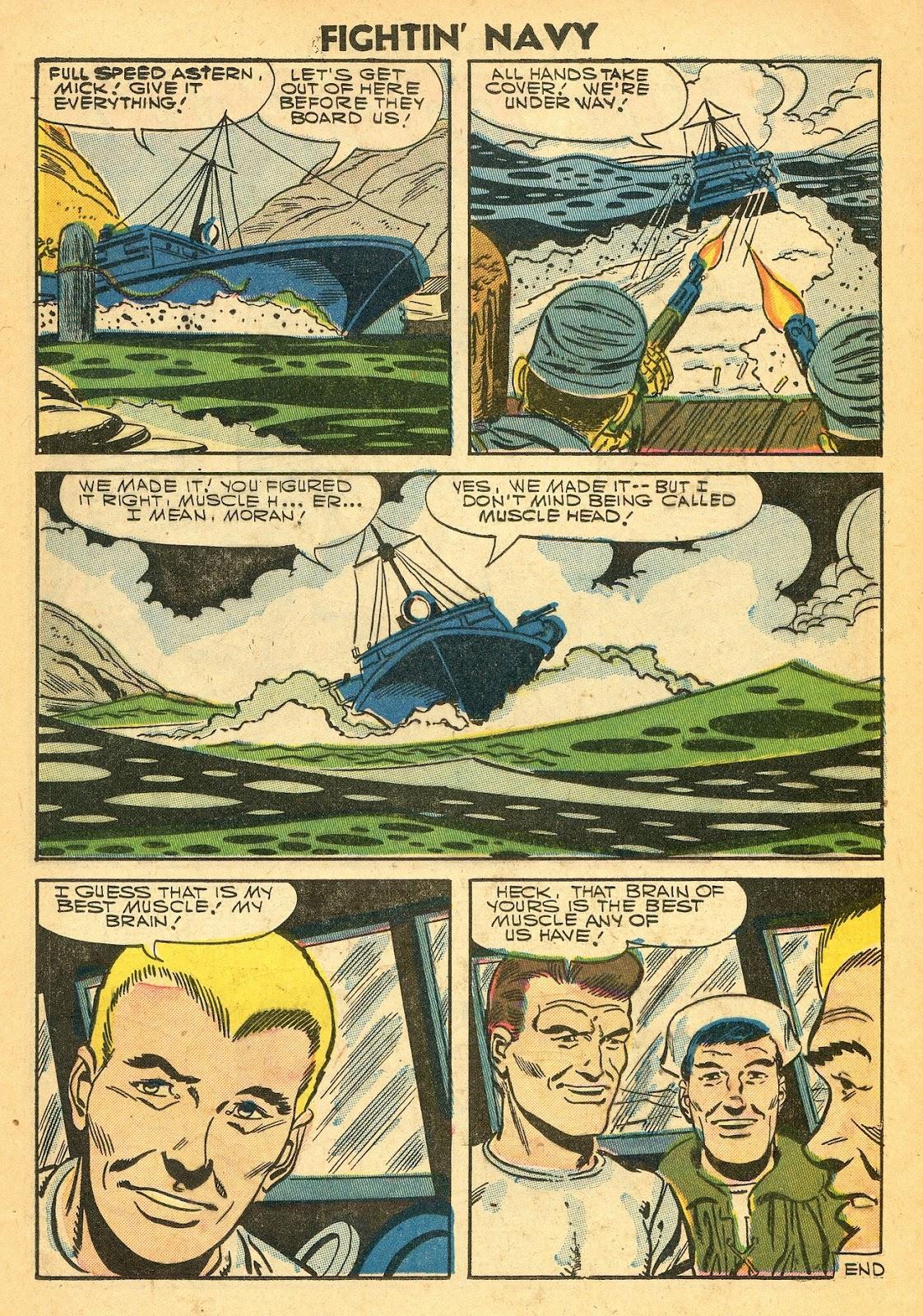 Read online Fightin' Navy comic -  Issue #77 - 25