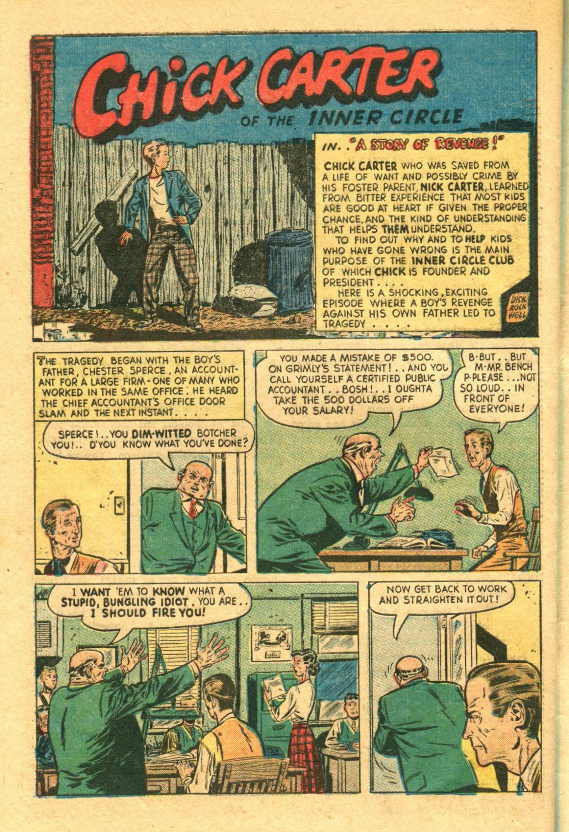 Read online Shadow Comics comic -  Issue #98 - 40