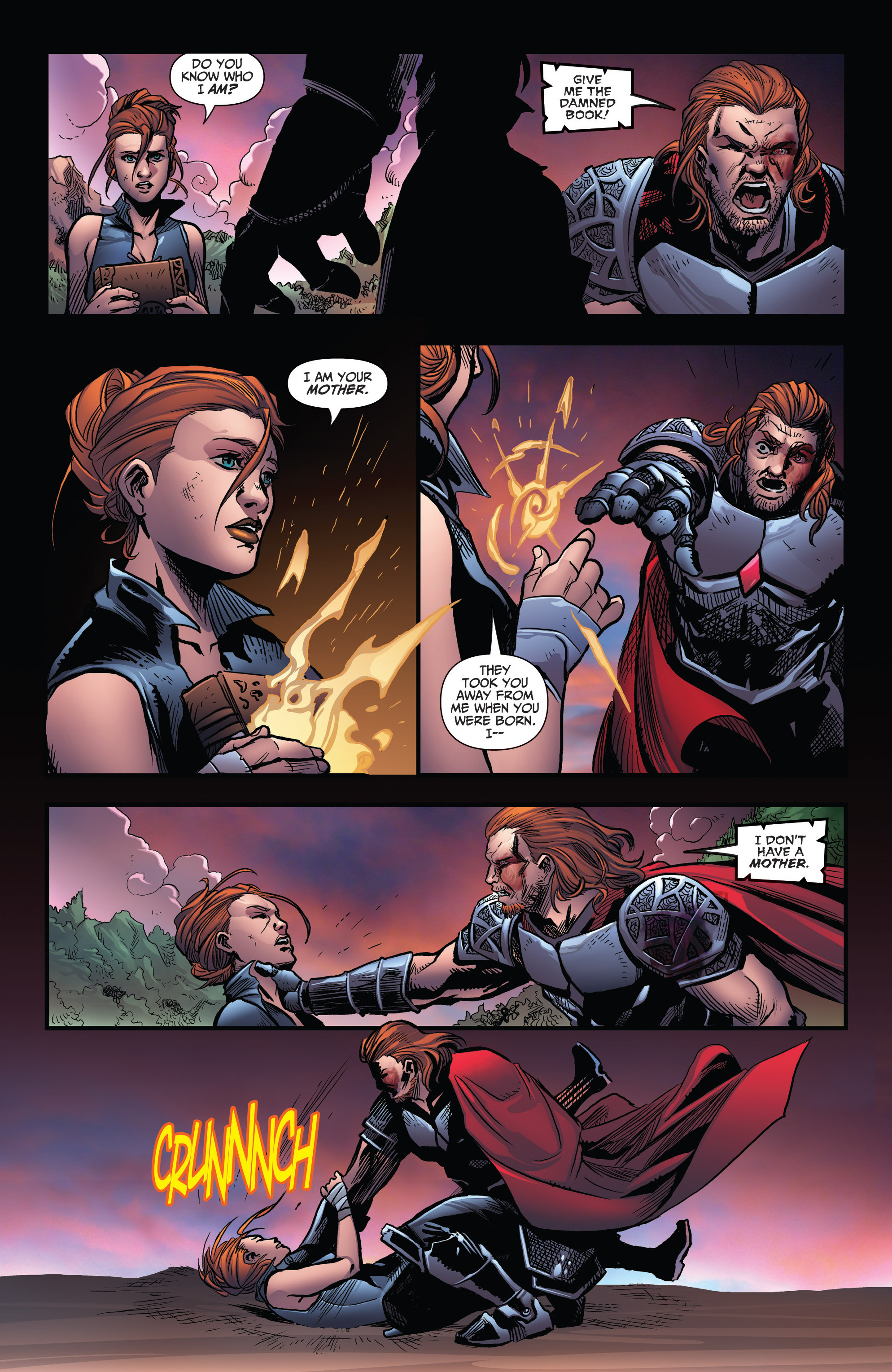 Read online Grimm Fairy Tales: Arcane Acre comic -  Issue # TPB 3 - 115
