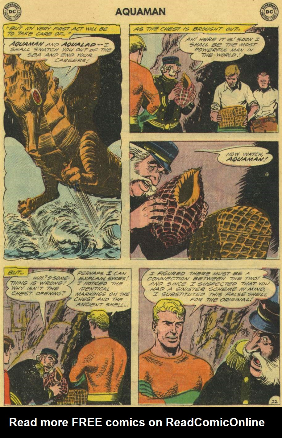 Read online Aquaman (1962) comic -  Issue #2 - 29