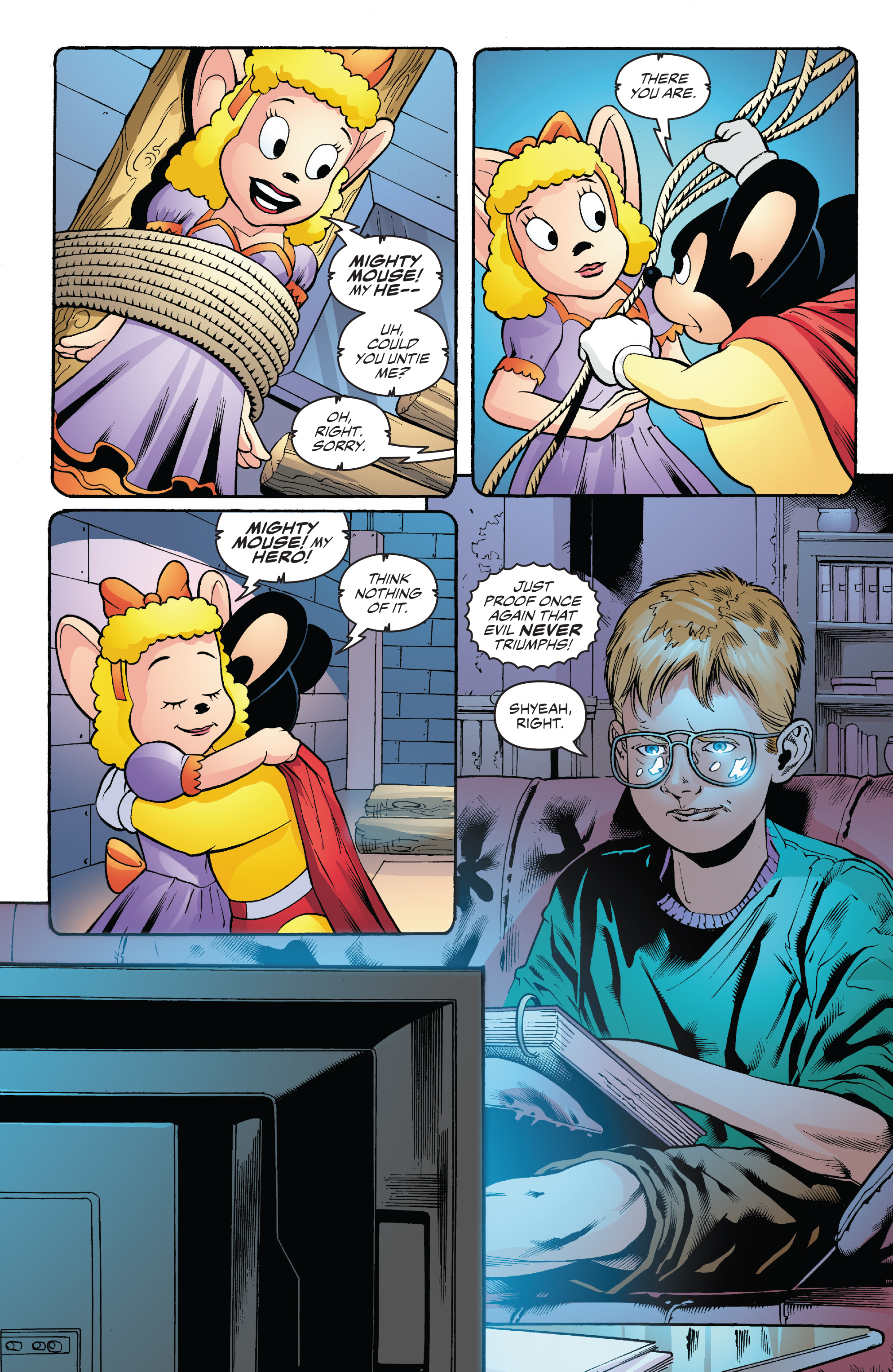 Read online Mighty Mouse (2017) comic -  Issue #1 - 21