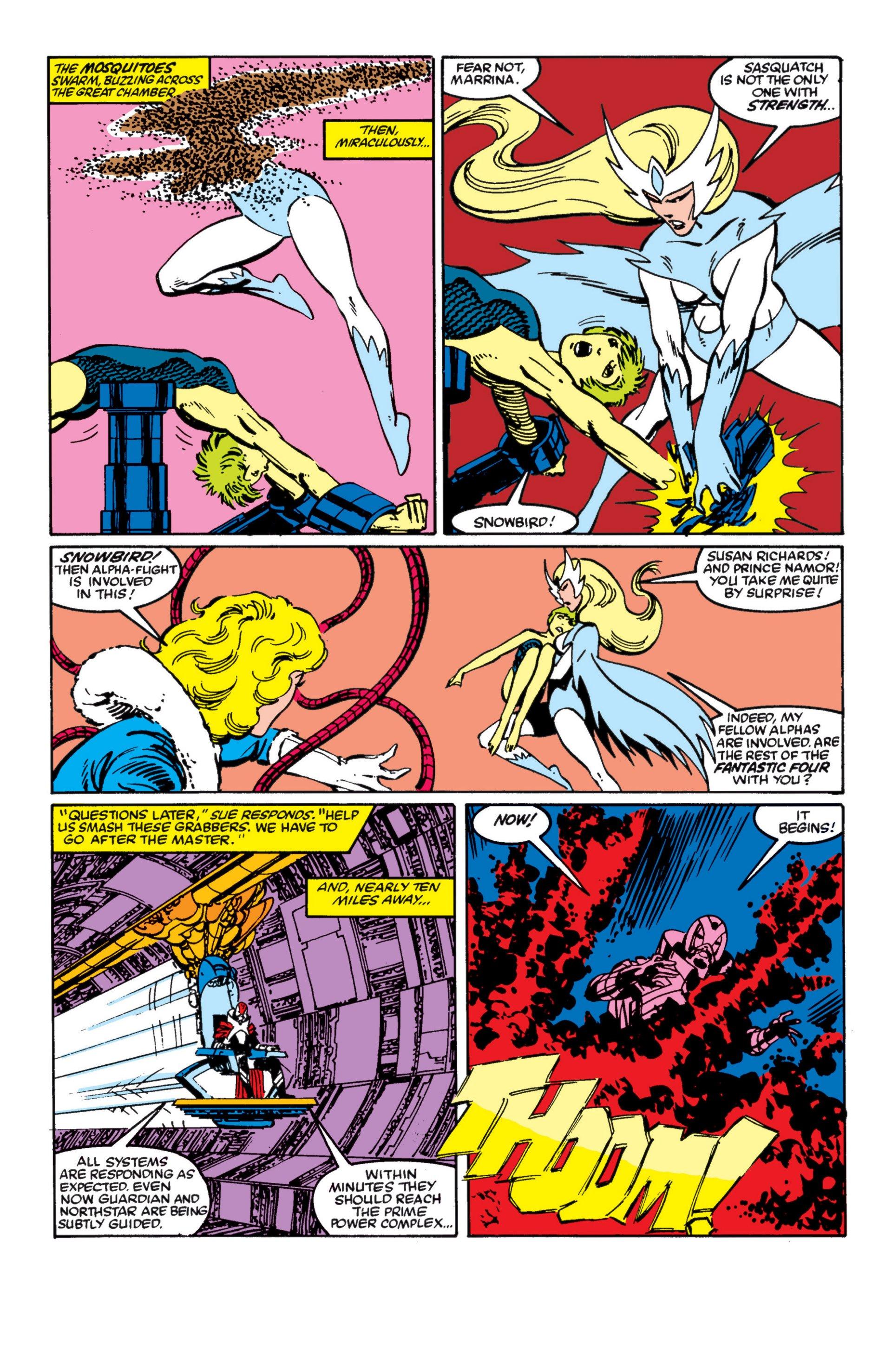 Read online Alpha Flight (1983) comic -  Issue #4 - 17