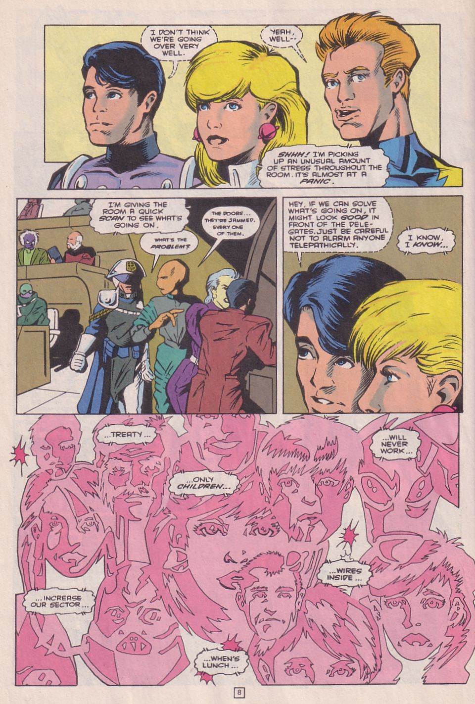 Legionnaires issue 0 - Page 9