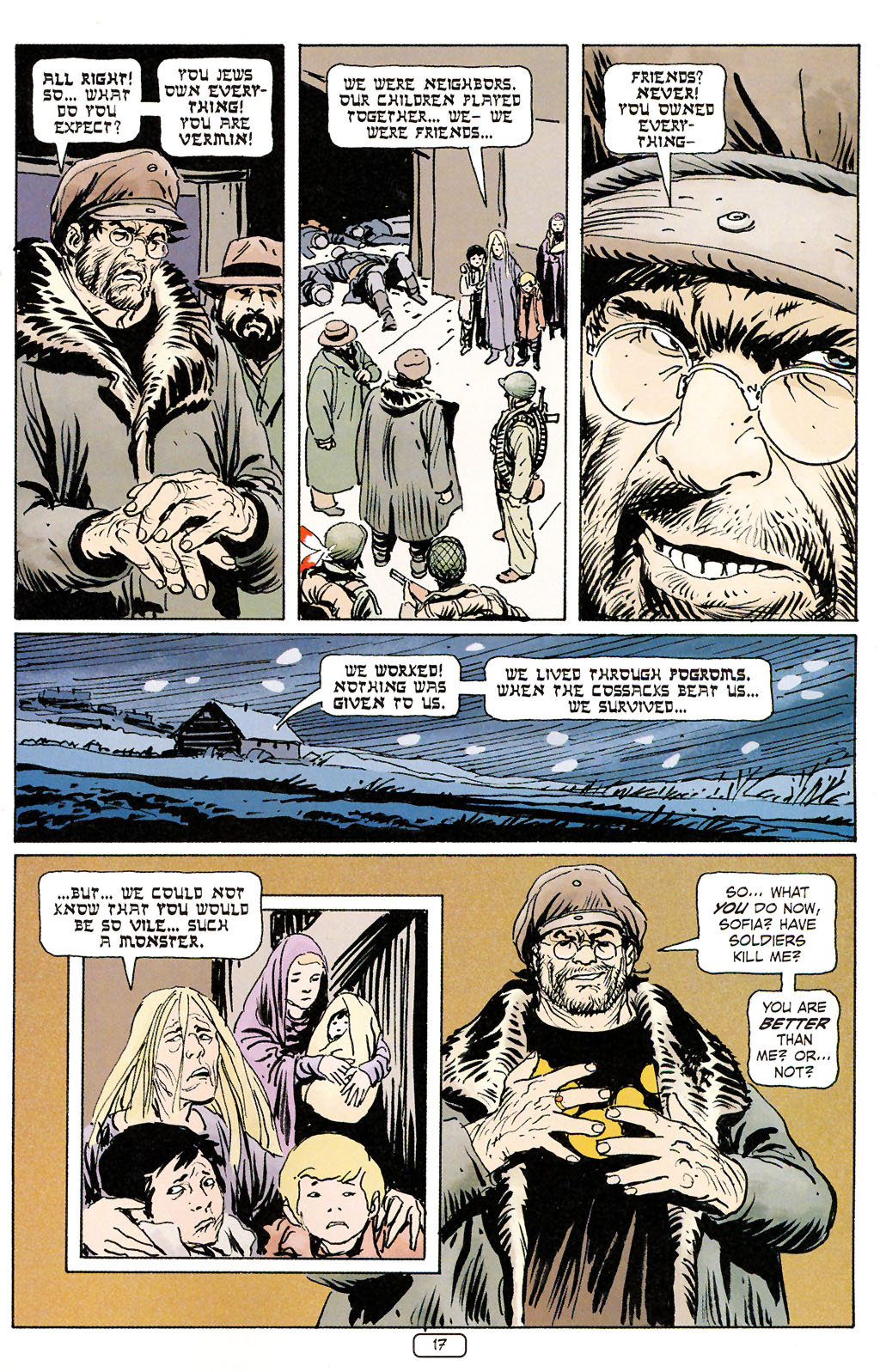 Read online Sgt. Rock: The Prophecy comic -  Issue #5 - 17