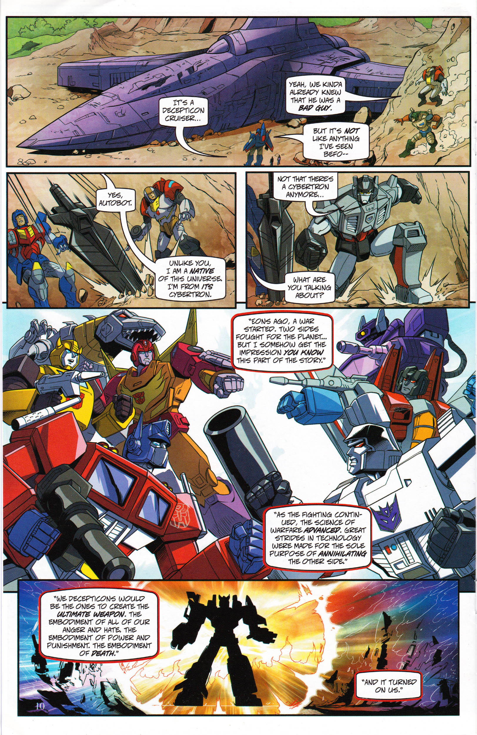 Read online Transformers: Collectors' Club comic -  Issue #69 - 10