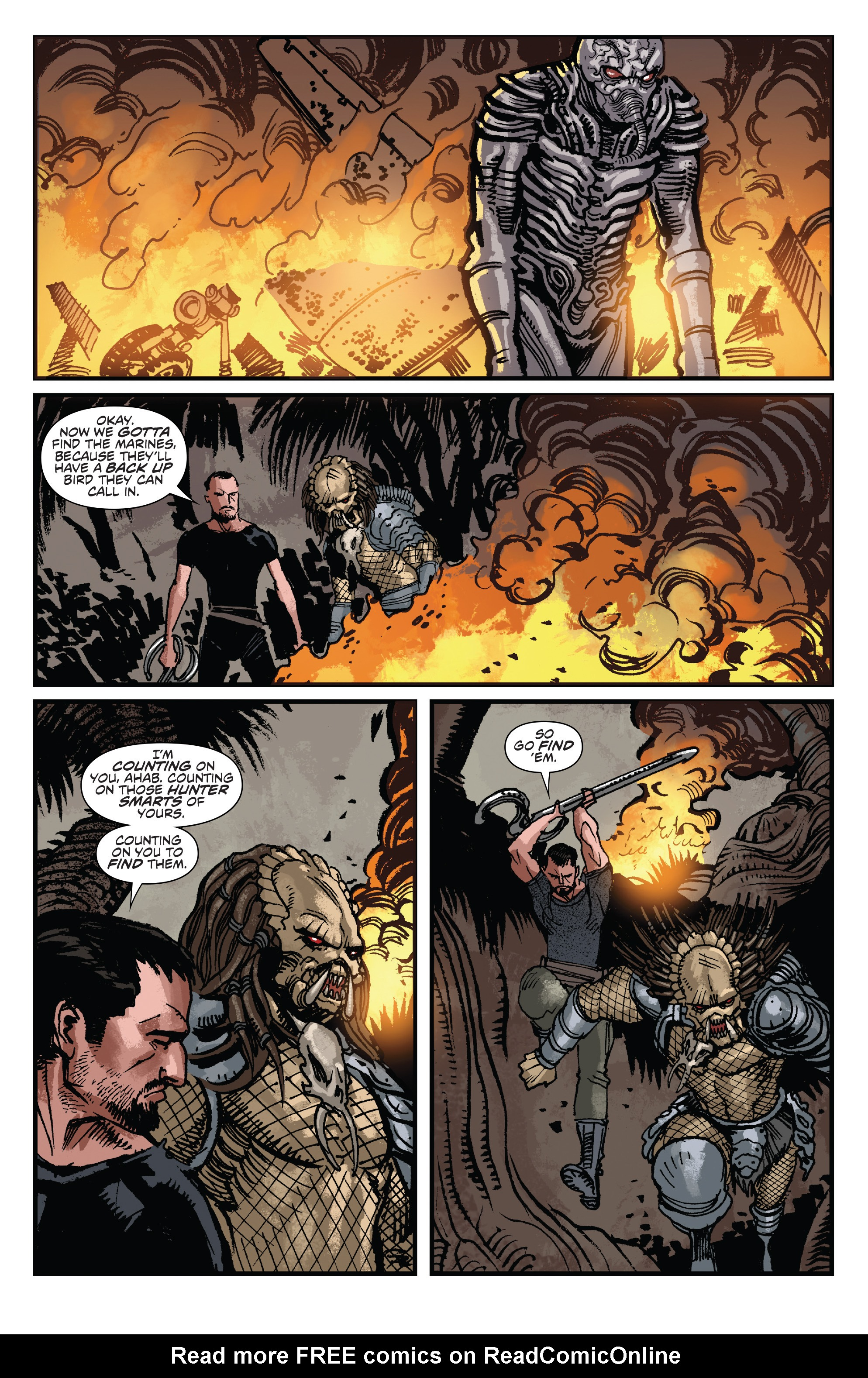 Read online Aliens: Life And Death comic -  Issue #3 - 11