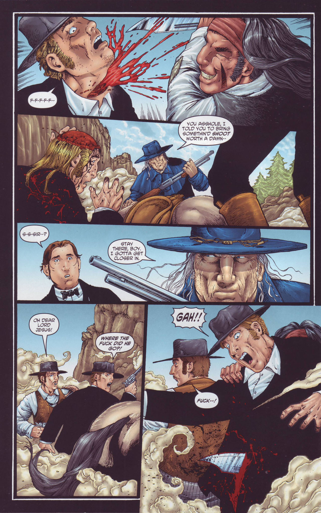 Read online Garth Ennis' Streets of Glory comic -  Issue #4 - 6